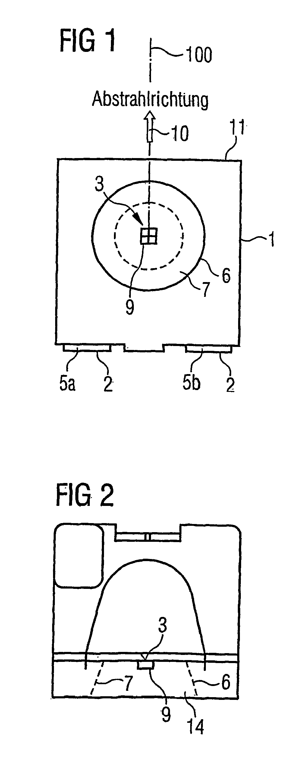 Patent EP1627455B1 - Housing for a laser diode component, and laser ...