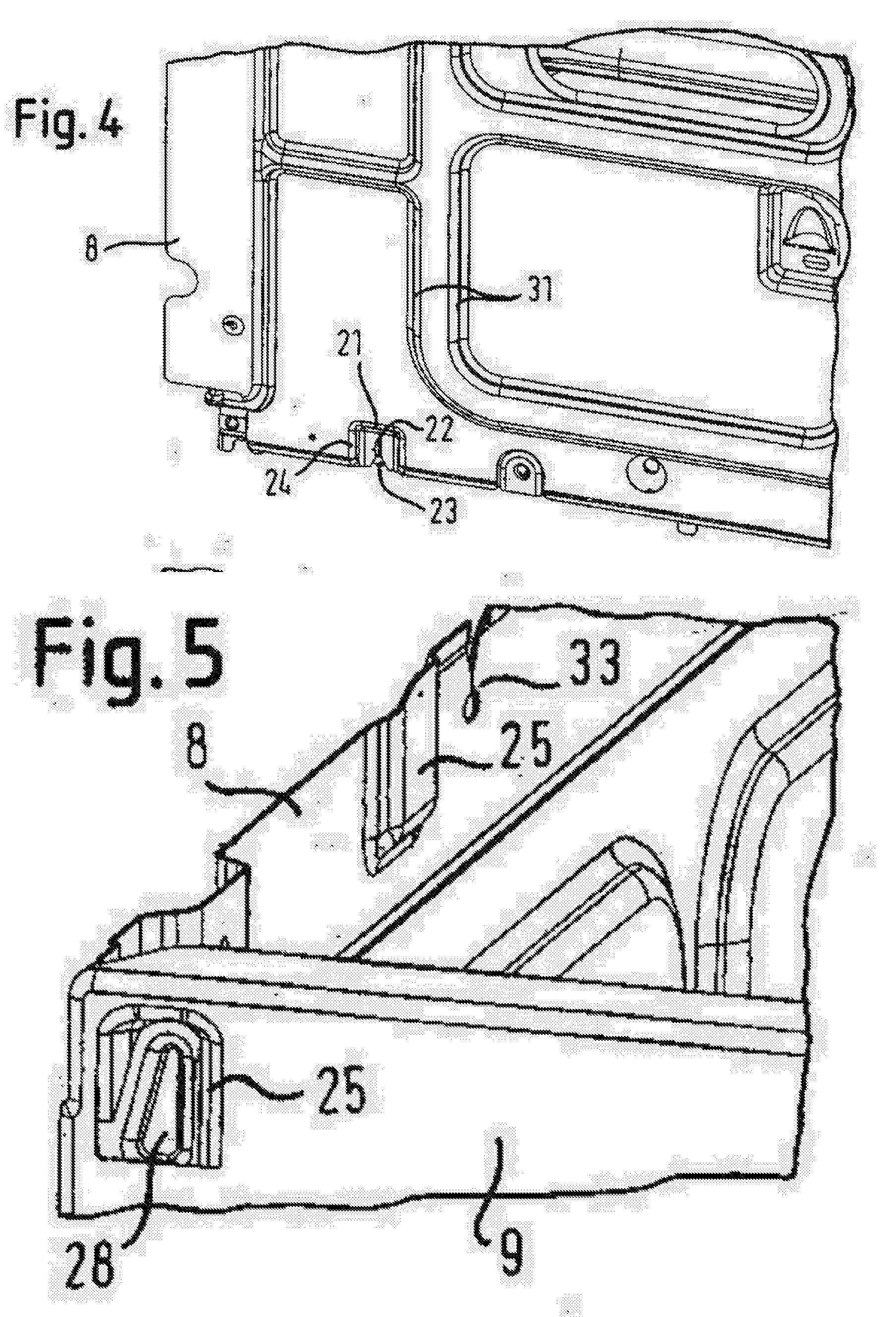 Patent EP1643189A2 - Oven for cooking of food - Google Patents