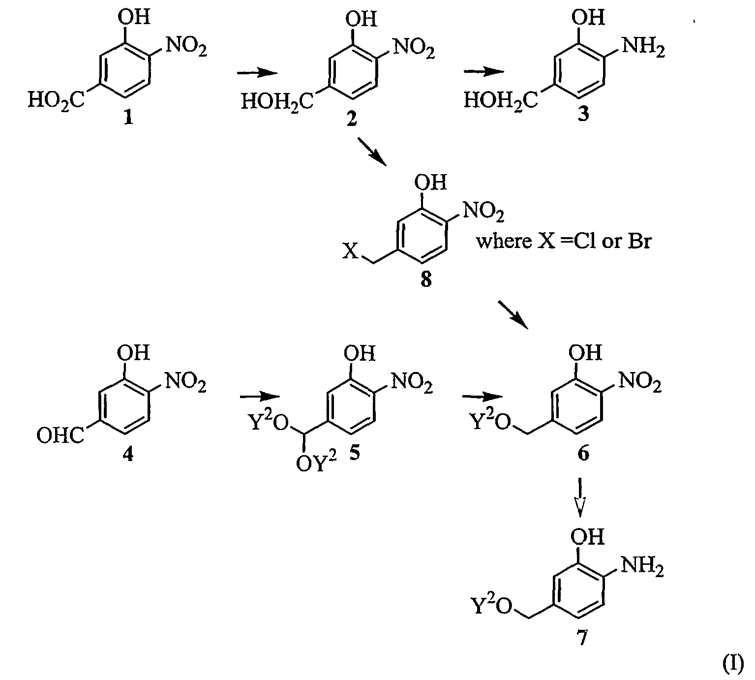 Patent ep1646606b1 2 amino 5 substituted oxymethyl phenol