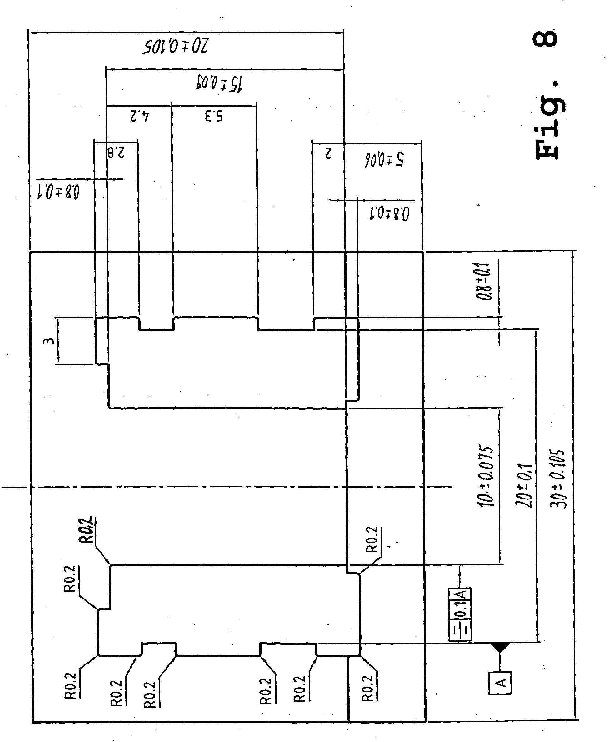 Patent Ep1655747a2 Cut Of Sheet Metal For A Laminated