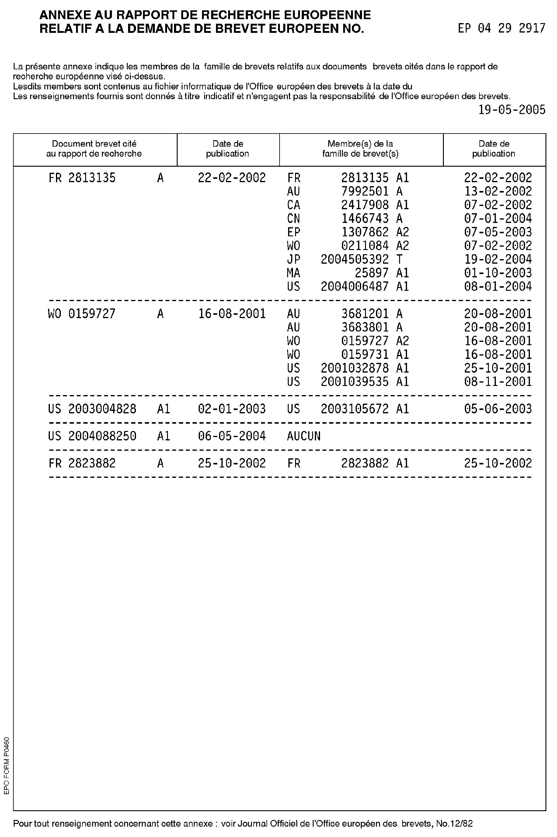 Patent ep1657687a1 carte de paiement pr pay e rechargement instantan distance par coupon - Recharge pcs bureau de tabac ...