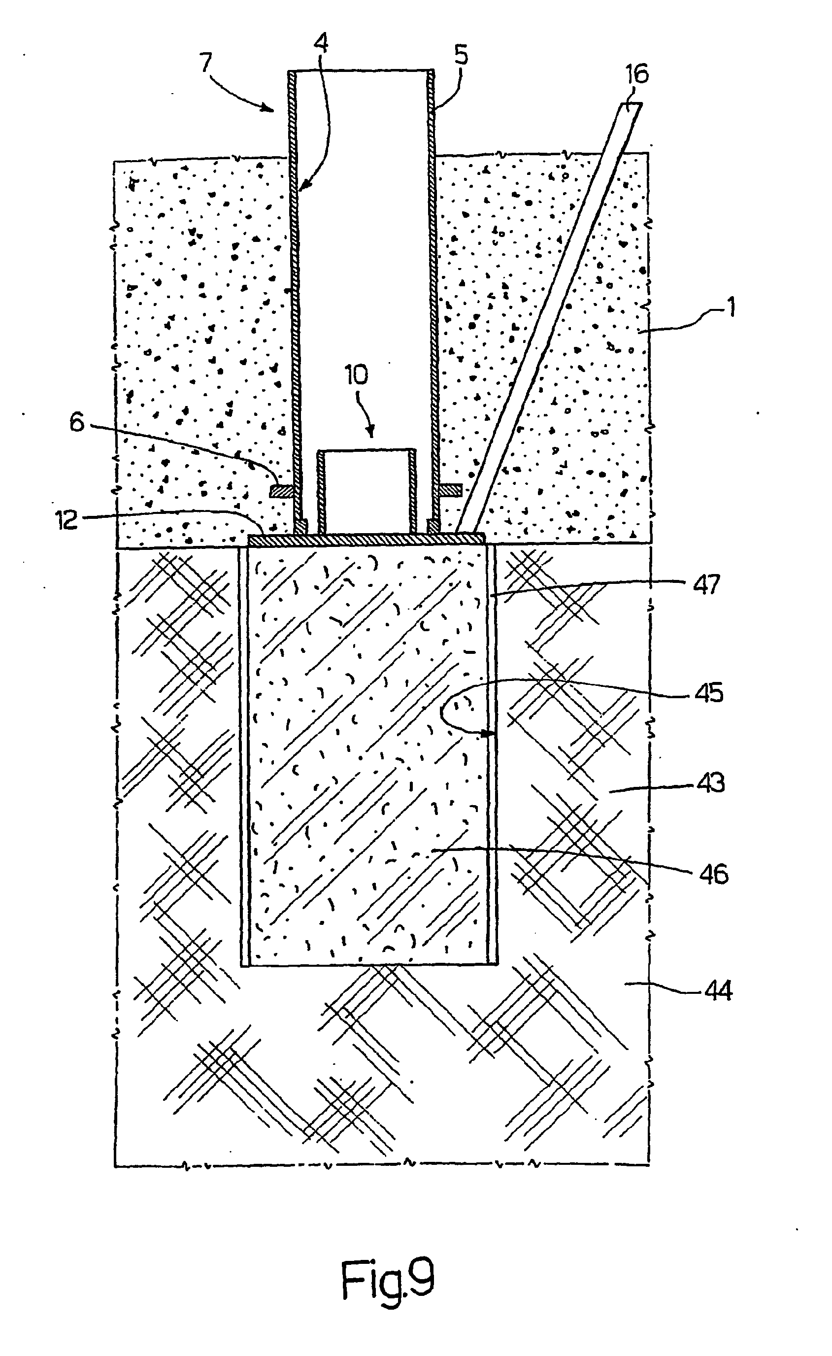Patent ep1673509b1 method of constructing a pile for Pylon foundation