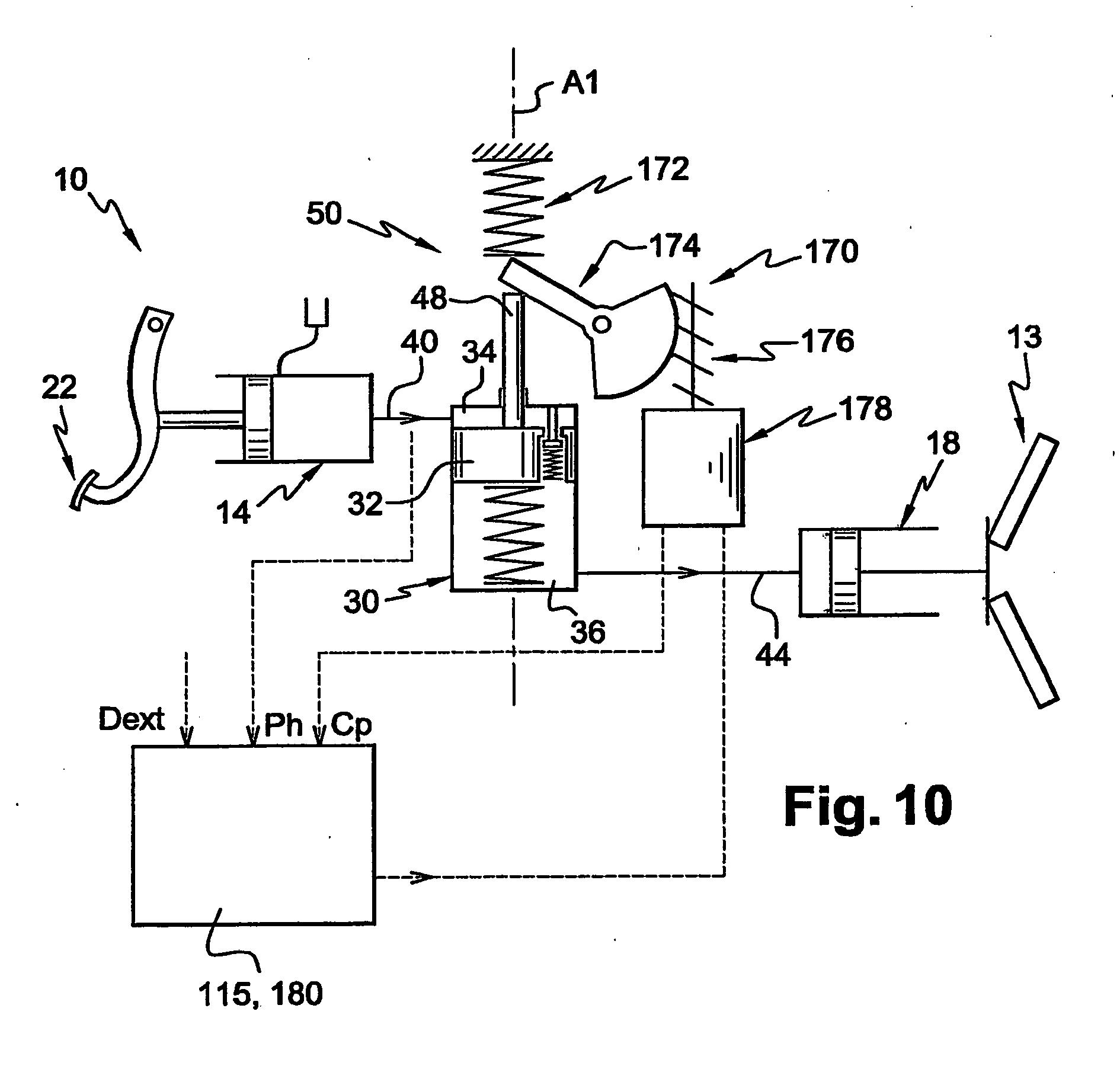 patent ep1682787b1 systeme de commande hydraulique d 39 un embrayage comportant des moyens d. Black Bedroom Furniture Sets. Home Design Ideas