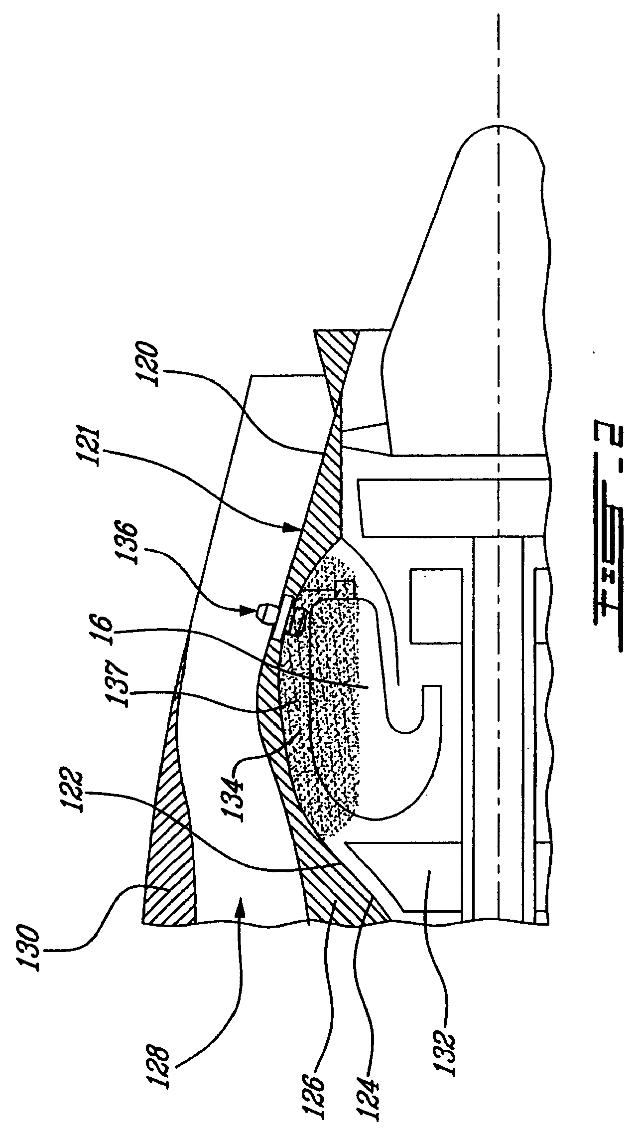 Patent EP A2 Evacuation of hot gases accumulated in an