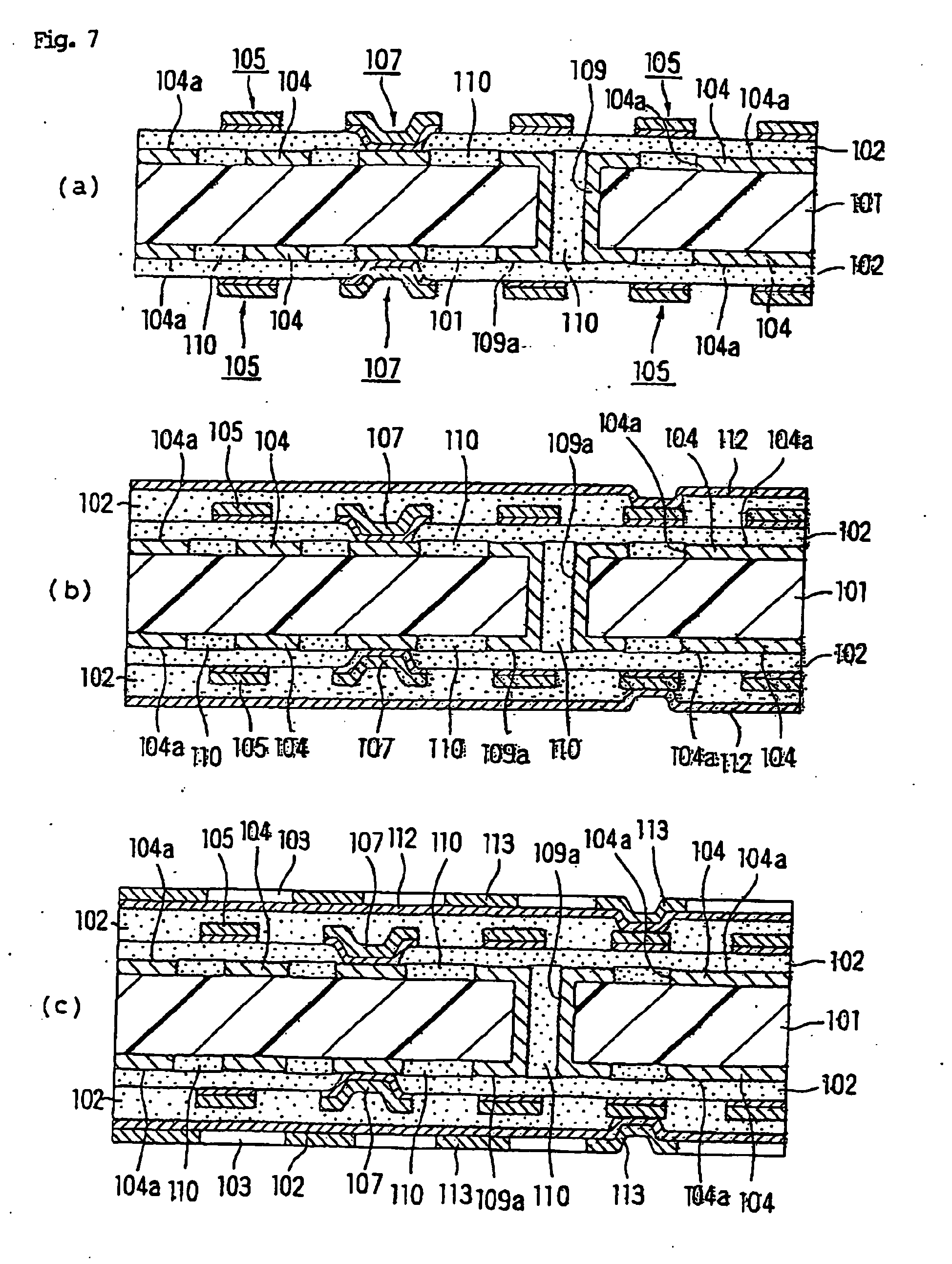 patent ep1699279b1 - multilayer printed wiring board and method for producing the same