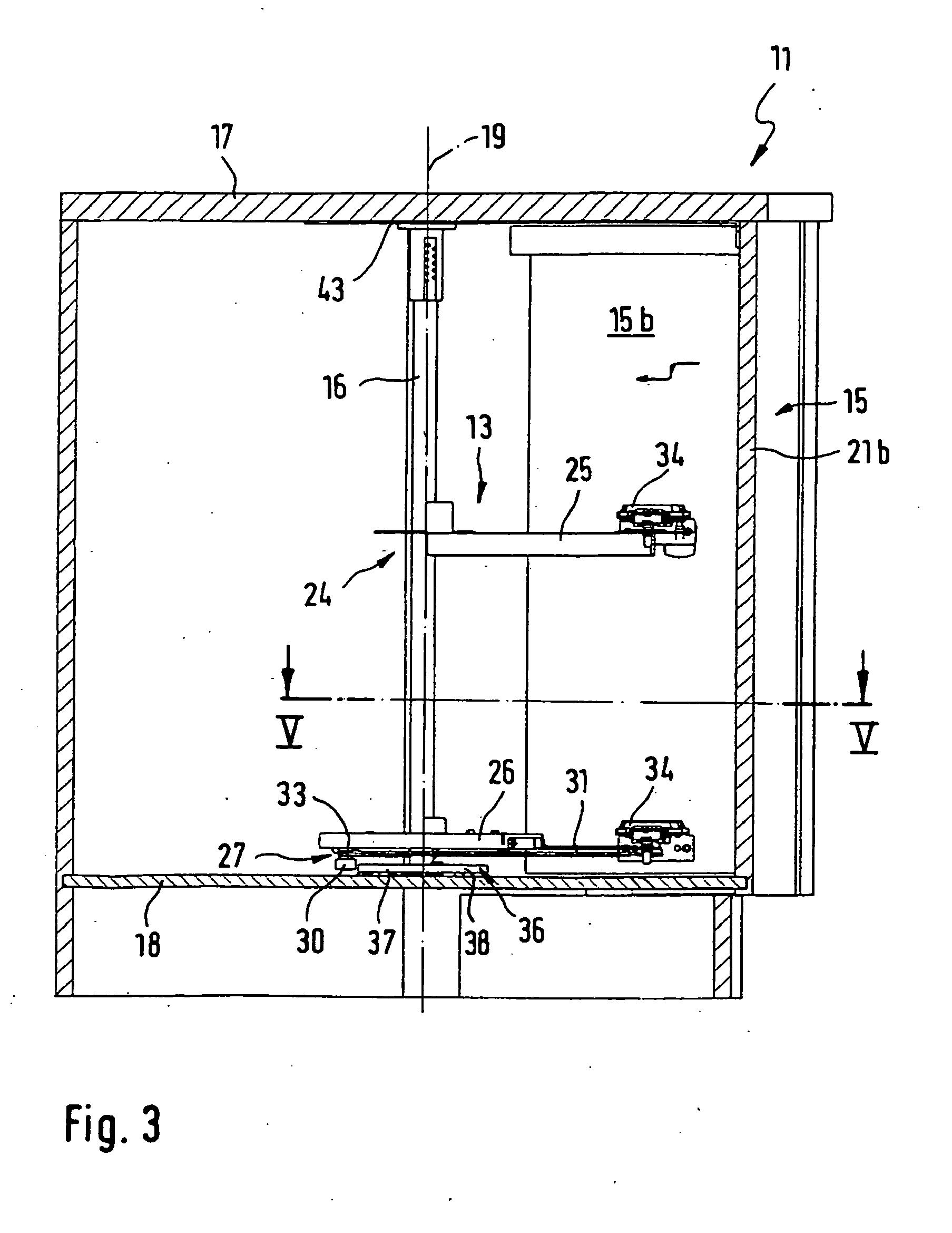 patent ep1703058b1 beschlag f r einen eckschrank insbesondere k cheneckschrank google patents. Black Bedroom Furniture Sets. Home Design Ideas
