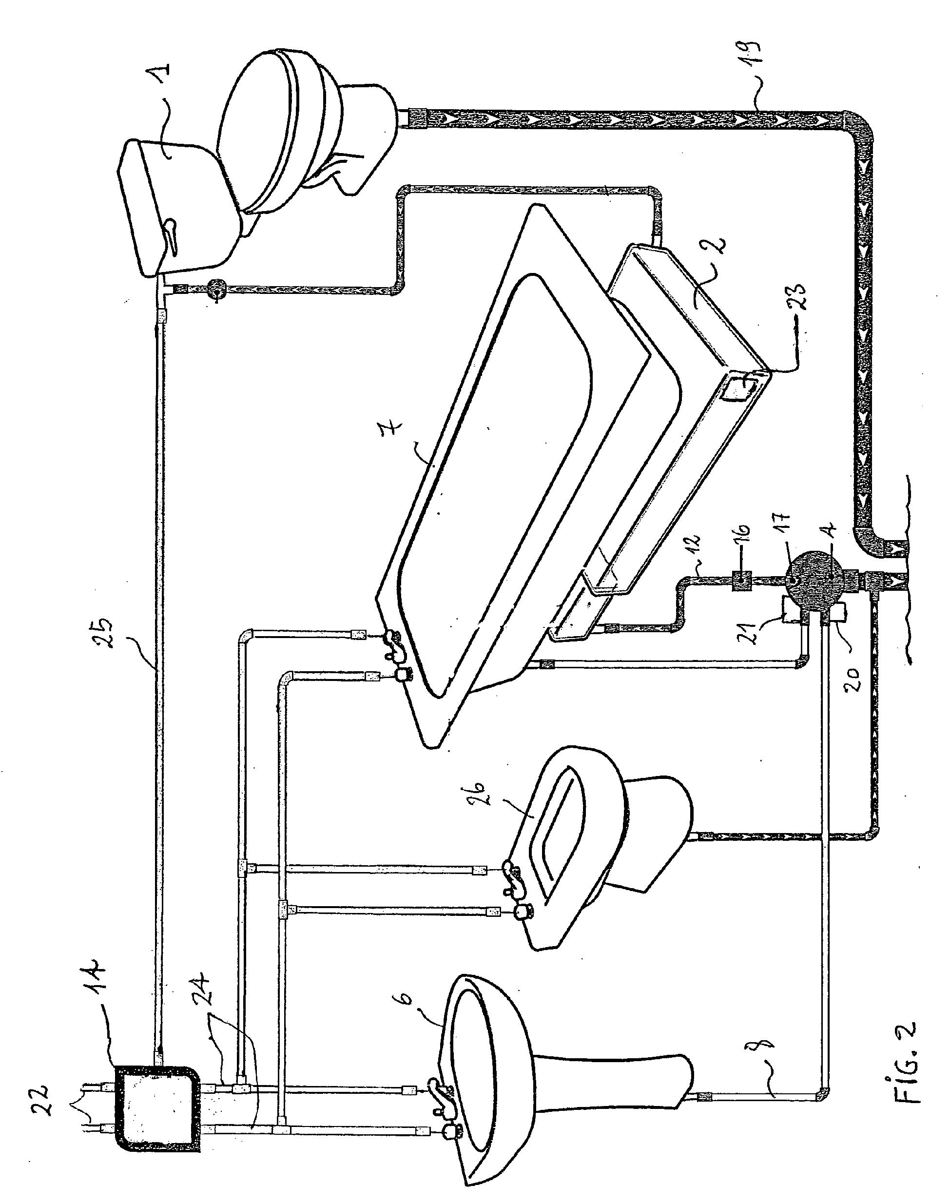 patent ep1741844a1 dispositif de recyclage des eaux. Black Bedroom Furniture Sets. Home Design Ideas
