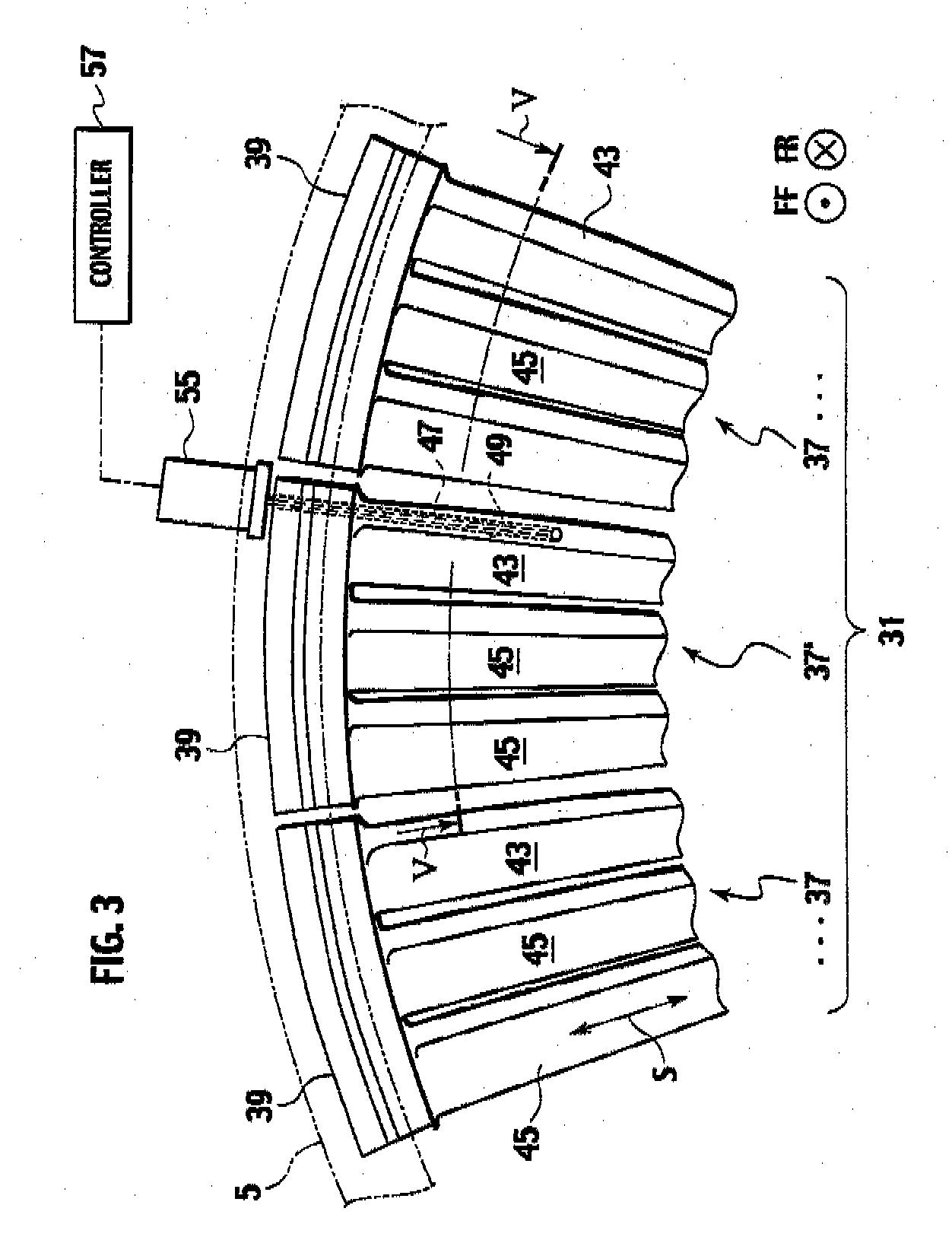 Patent EP A1 Turbine nozzle segment turbine nozzle