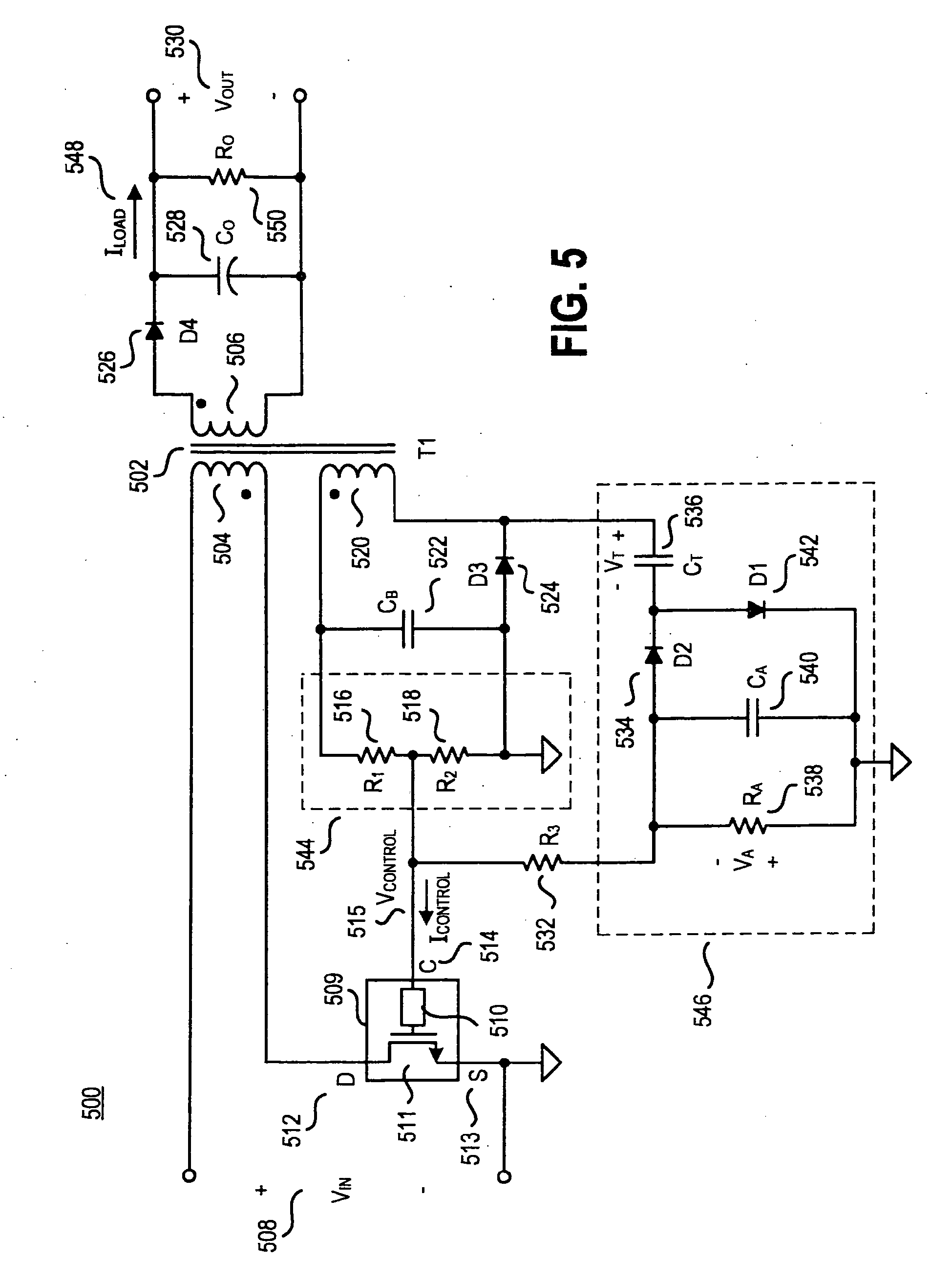 patent ep1764901a2 method and apparatus to improve regulation of a AM Modulation patent drawing