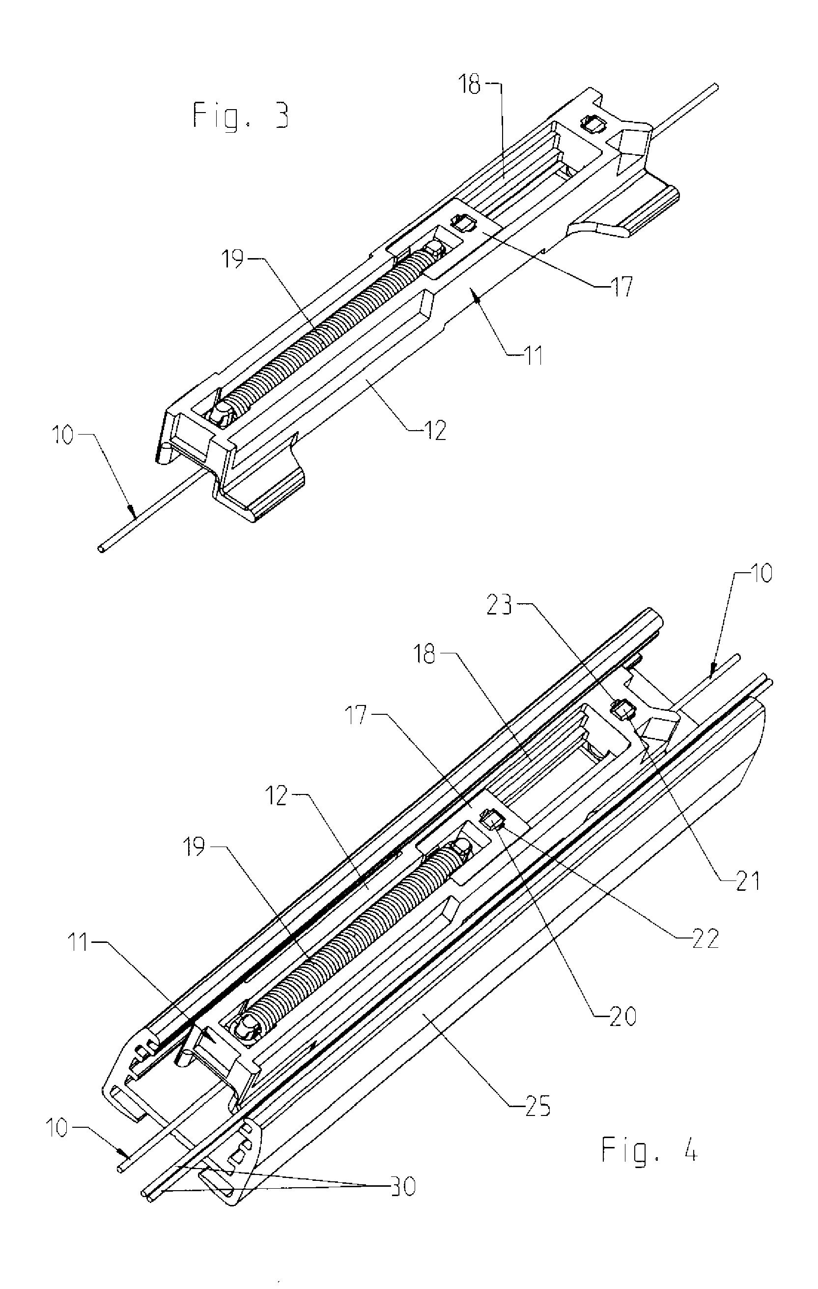 patent ep1783318a2 schnurspanner zum spannen von schn ren an verschattungsanlagen sowie. Black Bedroom Furniture Sets. Home Design Ideas