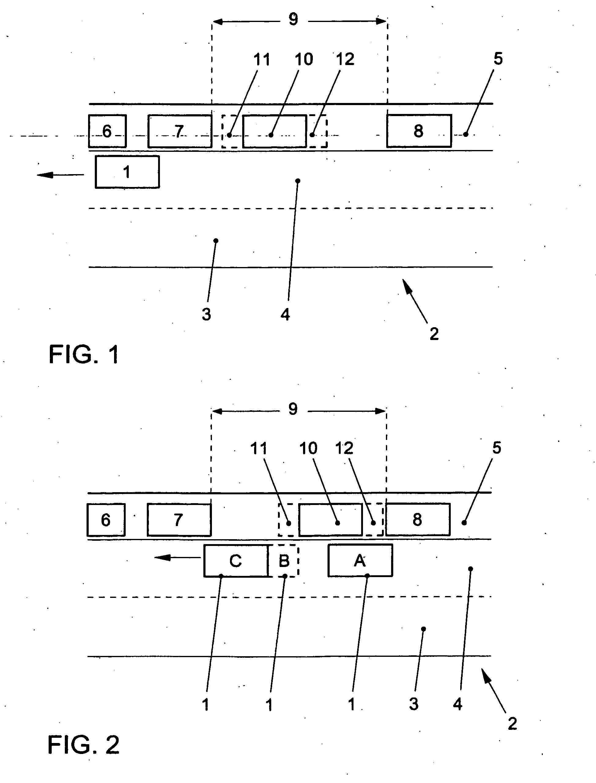 patent ep1792776b1 verfahren zur detektion und anzeige einer parkl cke und google patents. Black Bedroom Furniture Sets. Home Design Ideas