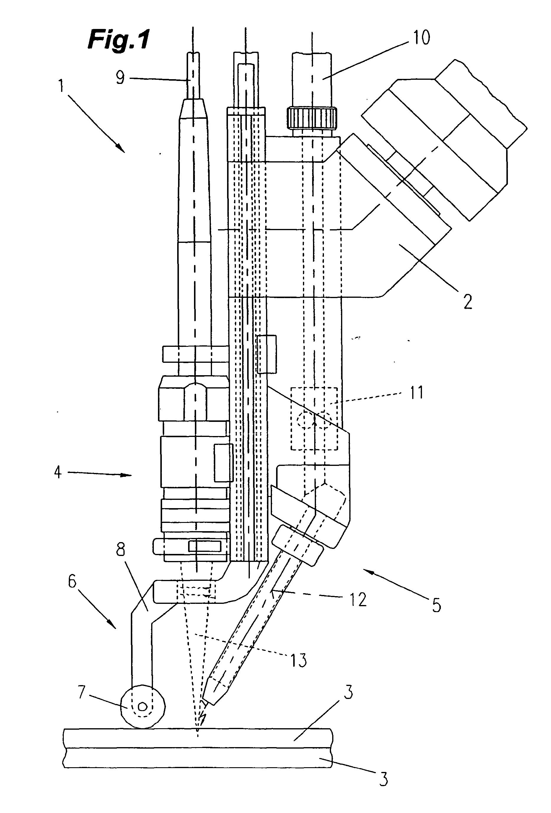 Patent EP1800790B1 - Verfahren zum Starten eines Laser-Hybrid ...