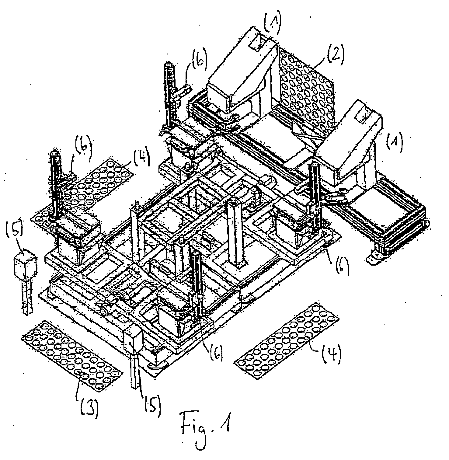 Patent EP1818748A2 - Device for the testing and setting of driver ...