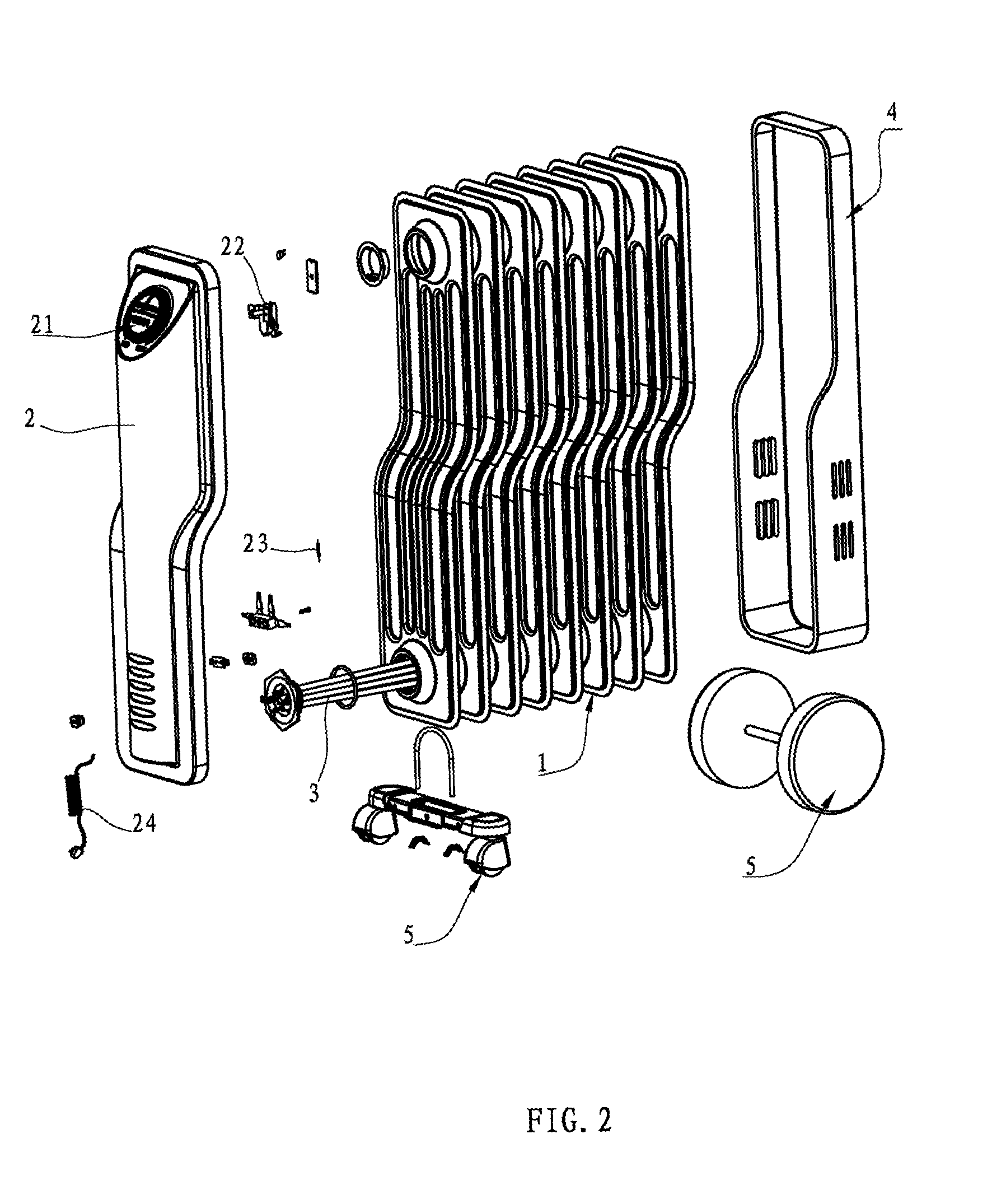 electric oil radiator wiring diagram