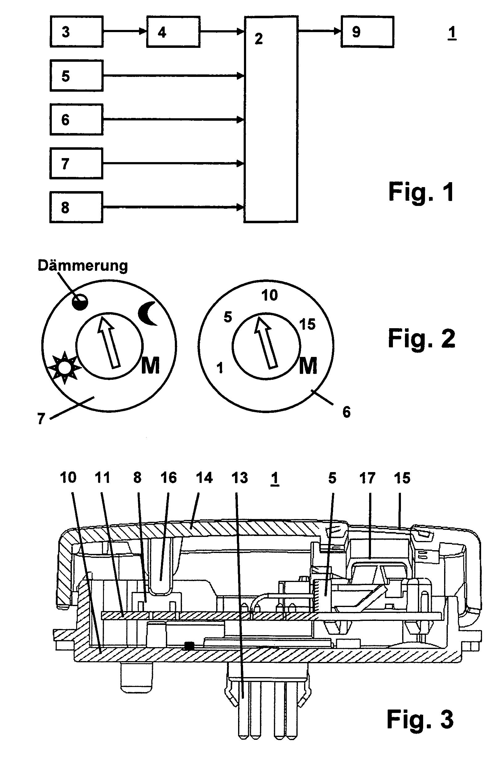 patent ep1843366a1 elektrisches elektronisches installationsger t mit bewegungsmelder und. Black Bedroom Furniture Sets. Home Design Ideas