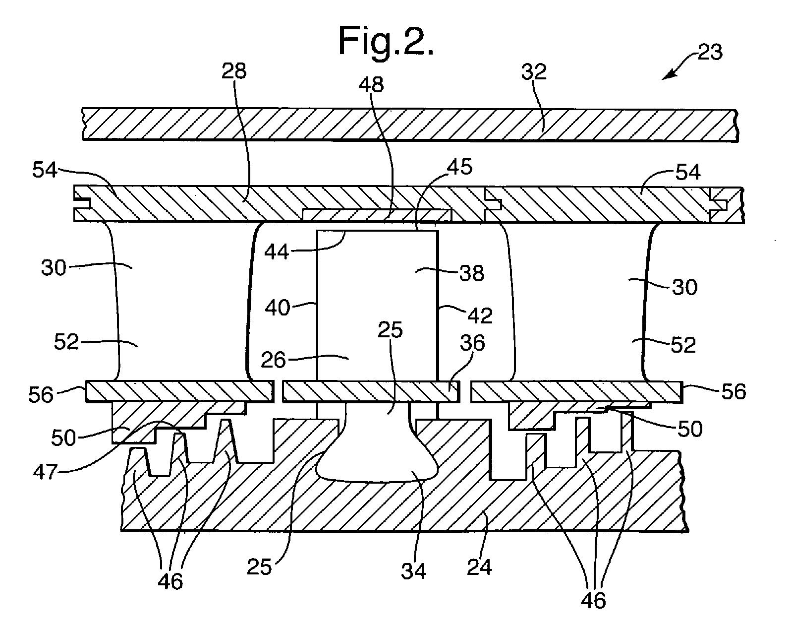 EP A2 Gas turbine abradable seal Google Patents