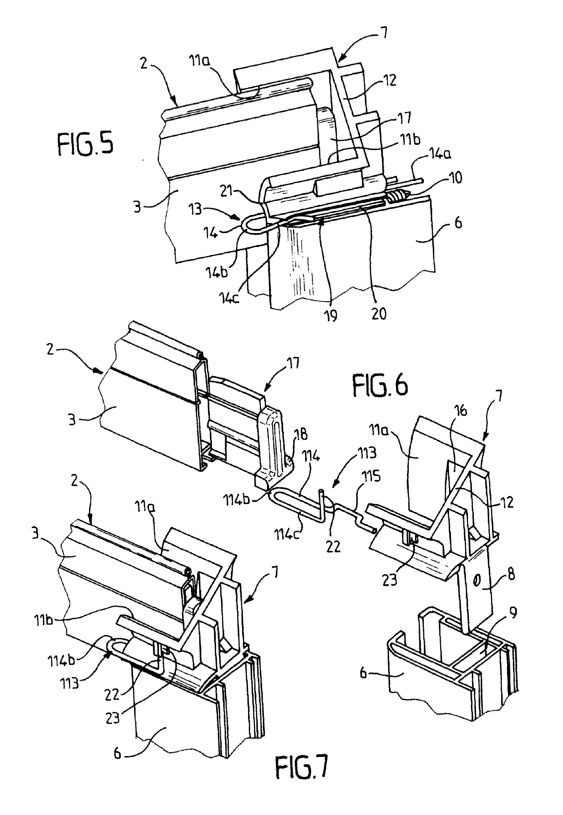 patent ep1882806a1 tulipe de volet roulant et installation de volet roulant comportant une