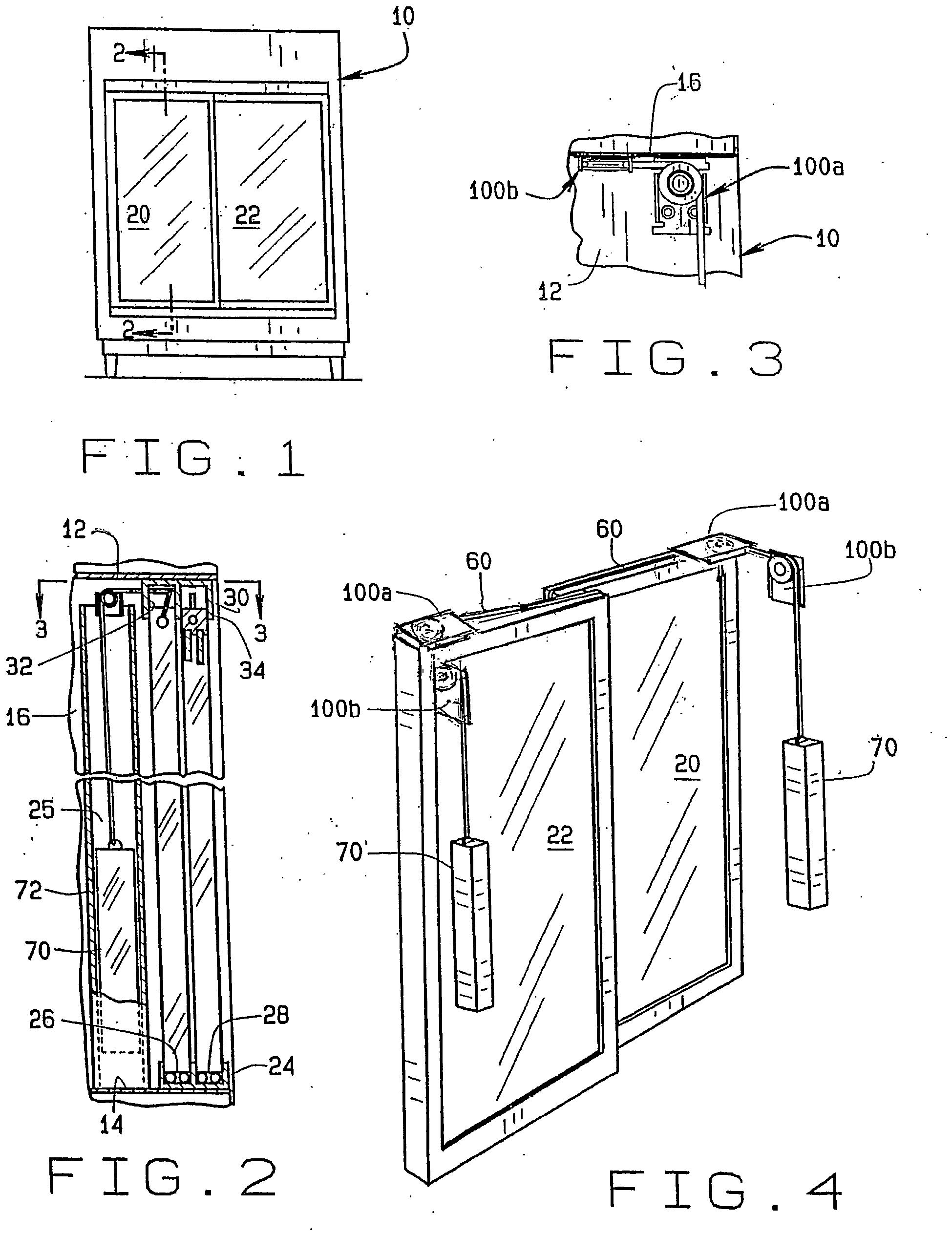 Patent Ep1885980b1 Self Closing Sliding Door Assembly