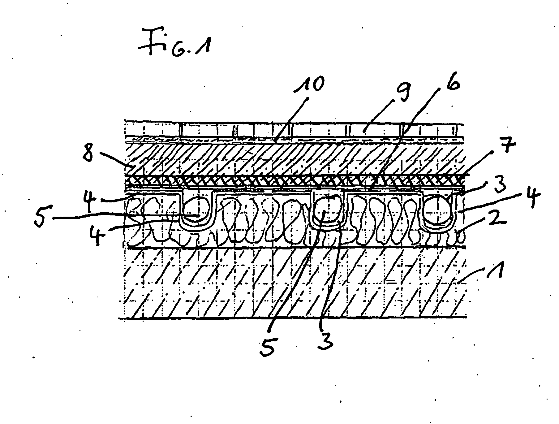 patent ep1905920b1 fu boden mit fu bodenheizung google patents. Black Bedroom Furniture Sets. Home Design Ideas