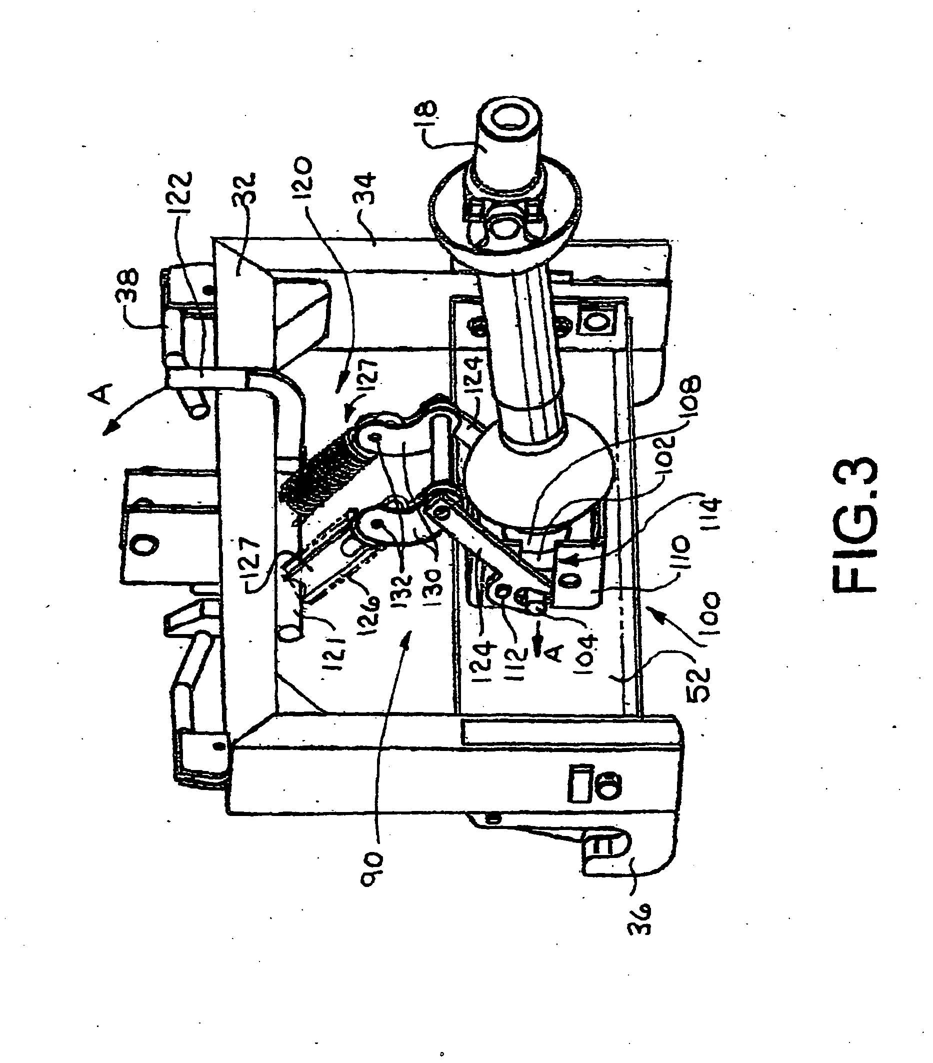 Patent EP1925195B1 - Lever connect PTO module for three