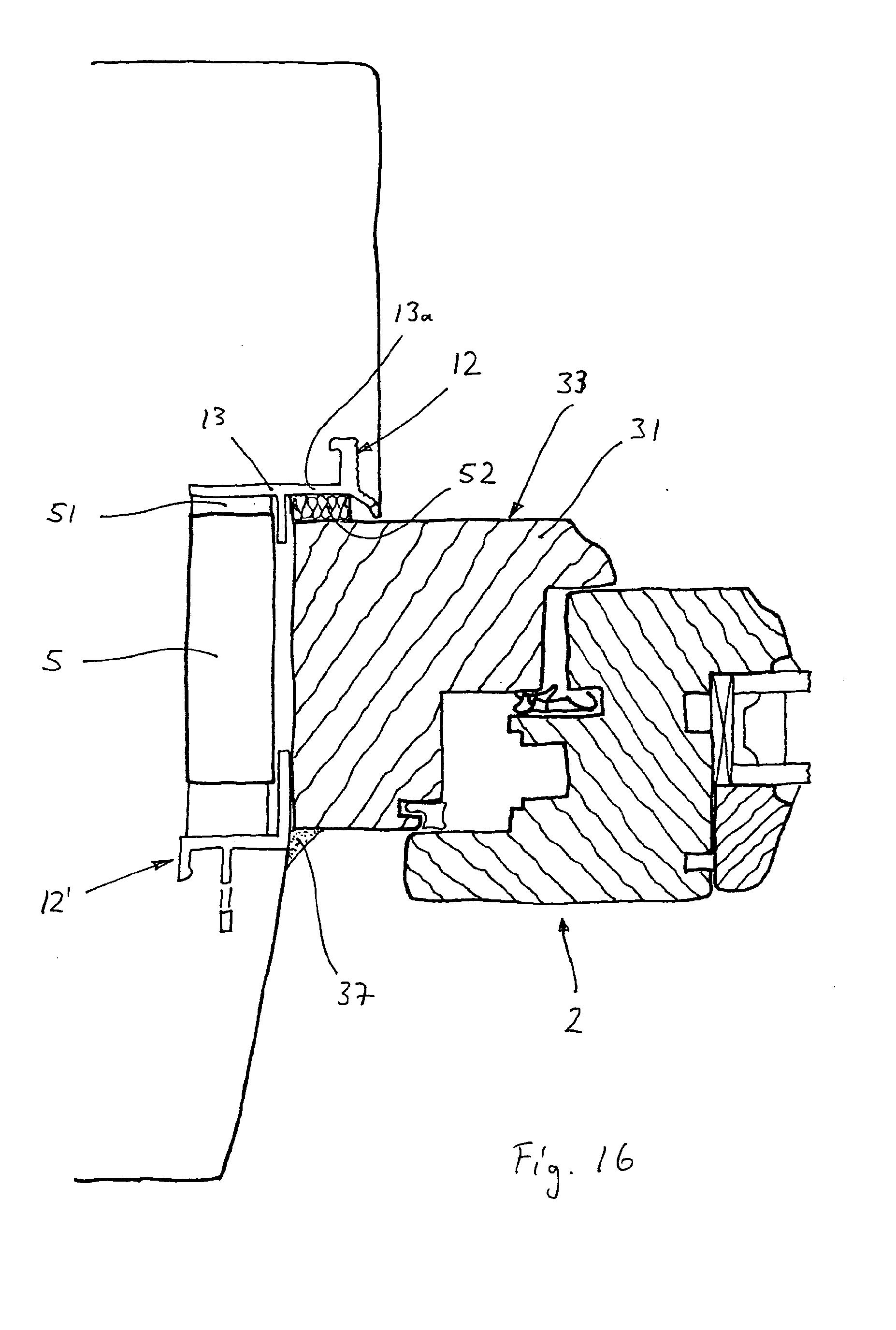 Patent ep1953329a2 profilleistenanordnung an einem for Fensterdetail