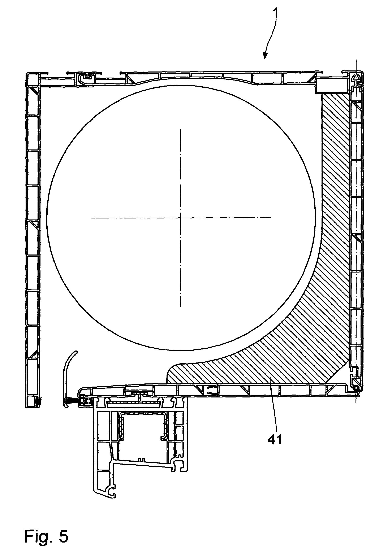 patent ep1953331a1 geh use f r einen rolladenkasten sowie rolladenkasten mit einem derartigen. Black Bedroom Furniture Sets. Home Design Ideas