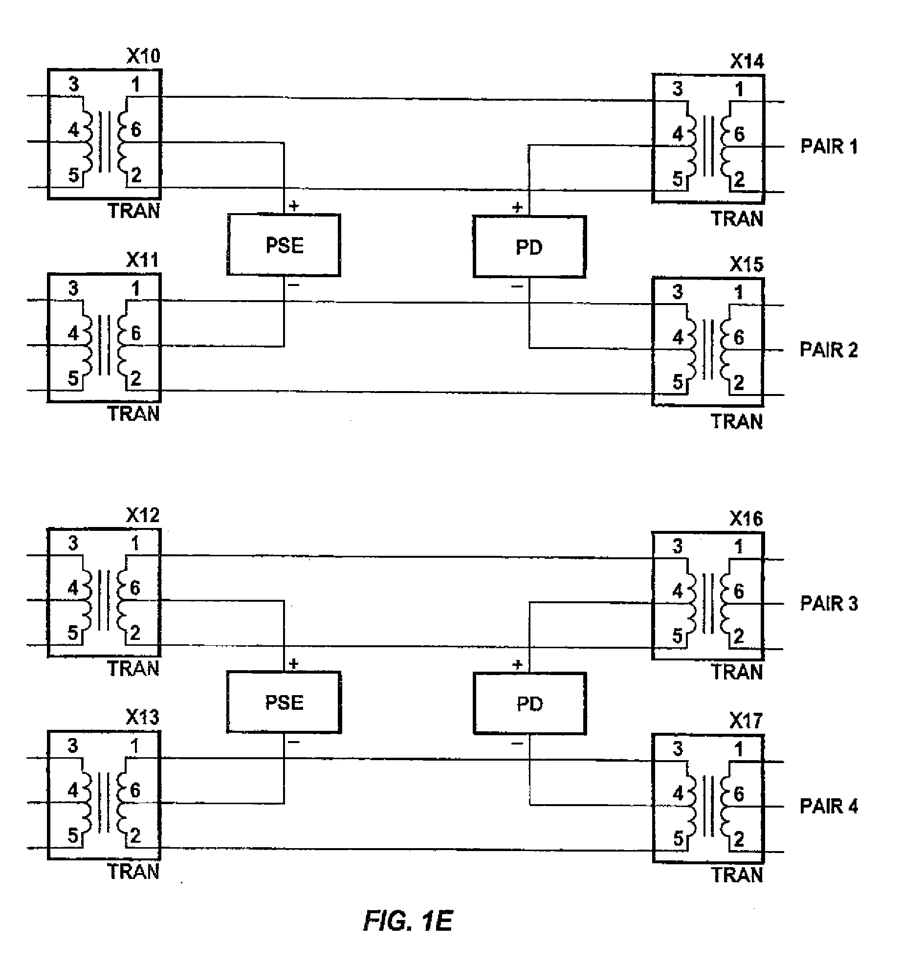 Patent Ep1981142a2 Fail Safe Inline Power In A Wired Data X11 Wiring Diagram Drawing