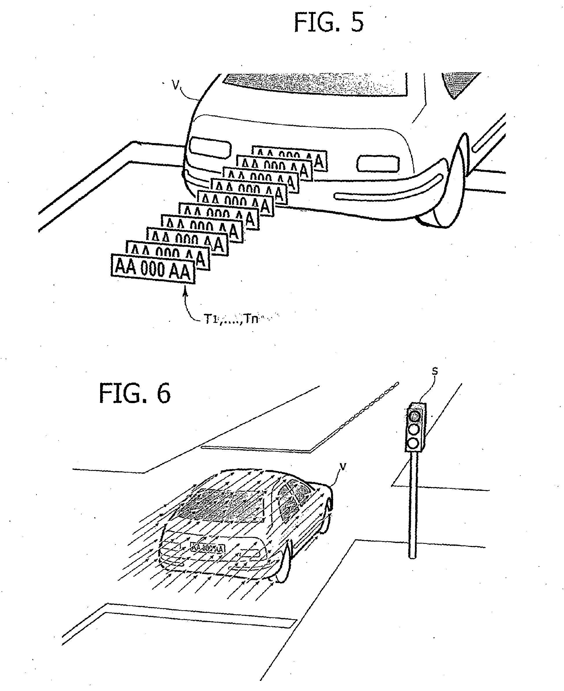 patent ep1997090b1 system zum erkennen von fahrzeugen google patentsuche. Black Bedroom Furniture Sets. Home Design Ideas
