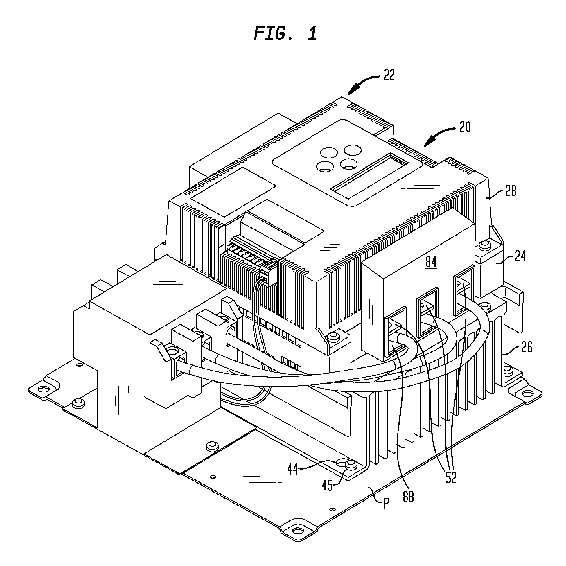 patent ep2015627a2 system and method for improved motor controller Opto- Isolator patent drawing
