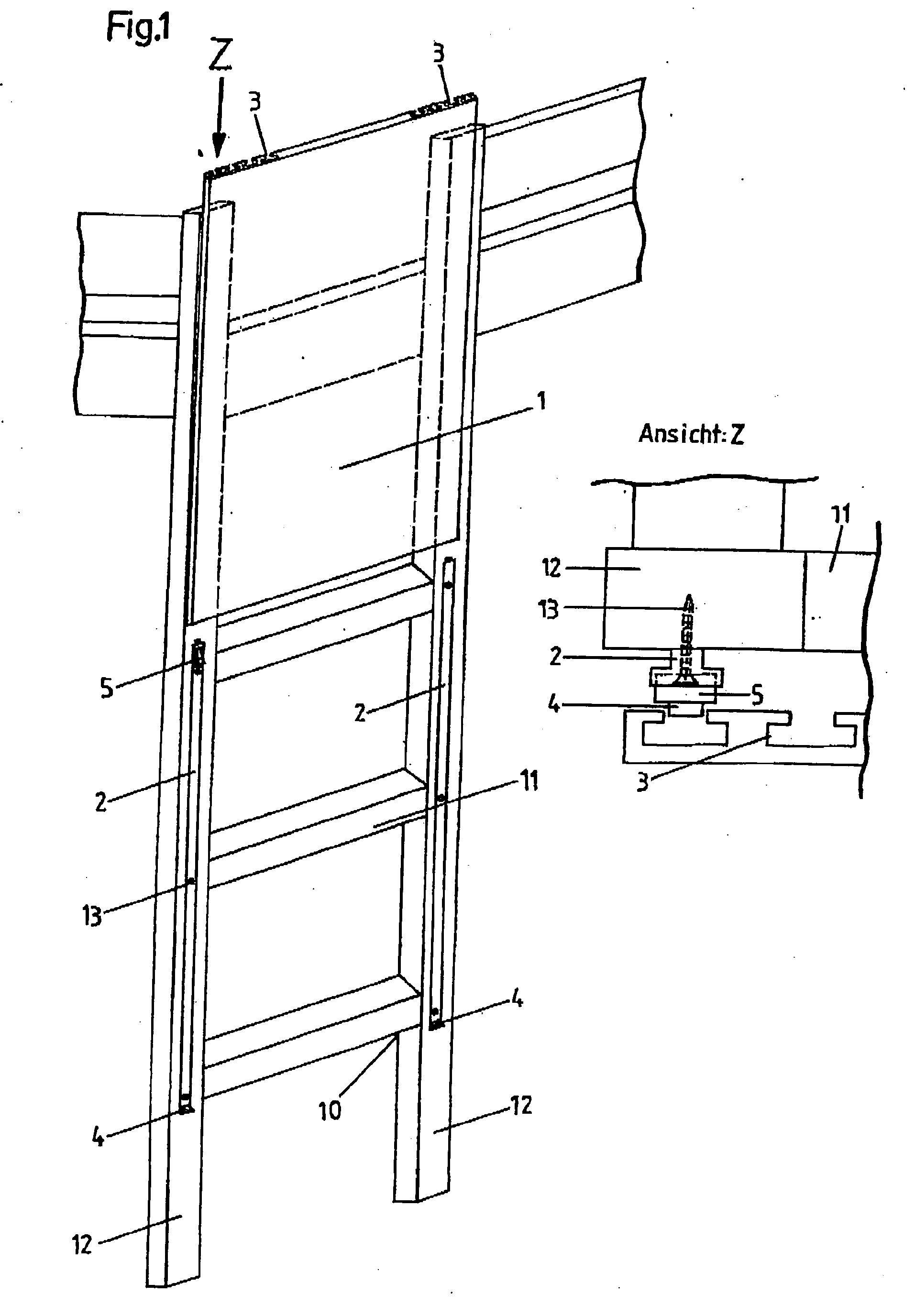 patent ep2022931a2 leitersicherung insbesondere f r kinderhochbetten google patents. Black Bedroom Furniture Sets. Home Design Ideas