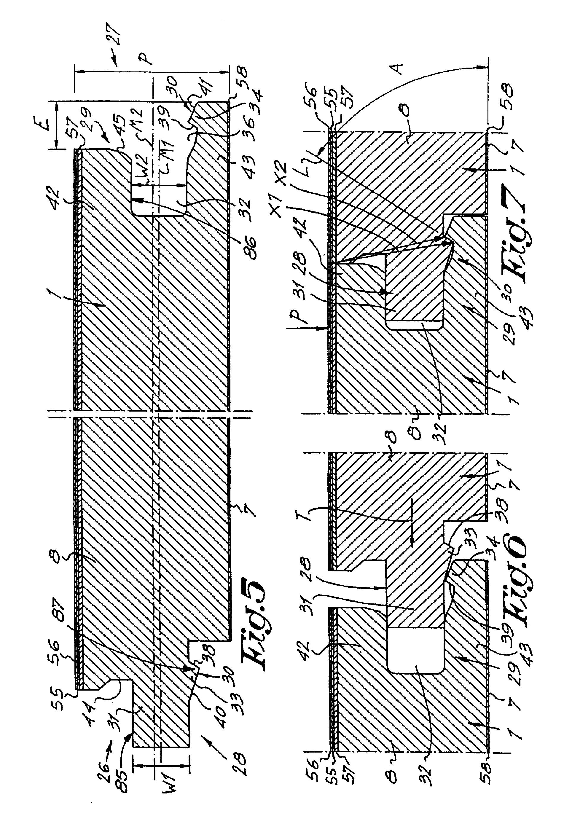 patent ep2031149a2 bodenbelag bestehend aus harten bodenplatten und verfahren zur herstellung. Black Bedroom Furniture Sets. Home Design Ideas