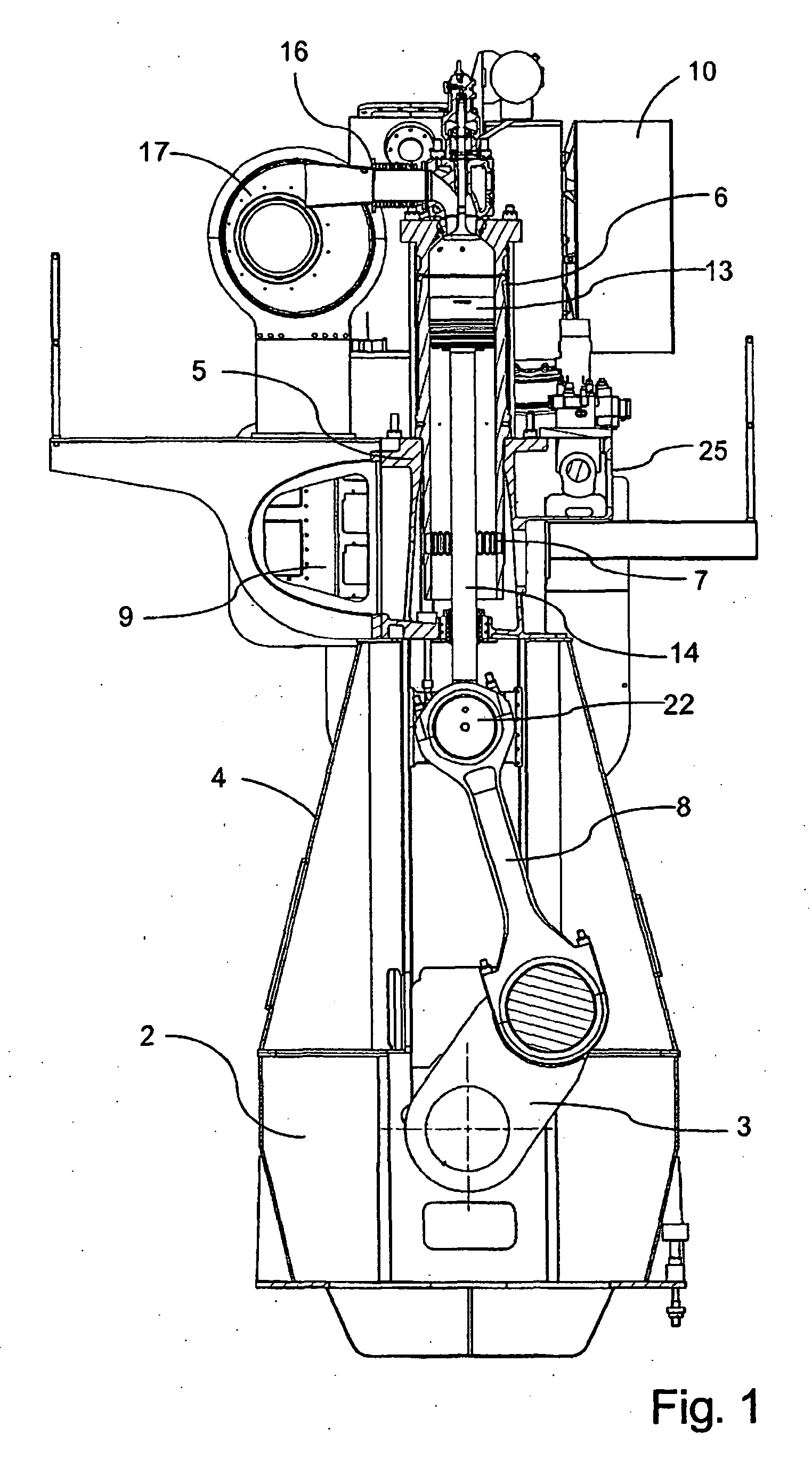 patent ep2071177b1 - large uniflow two-stroke diesel engine of the crosshead type