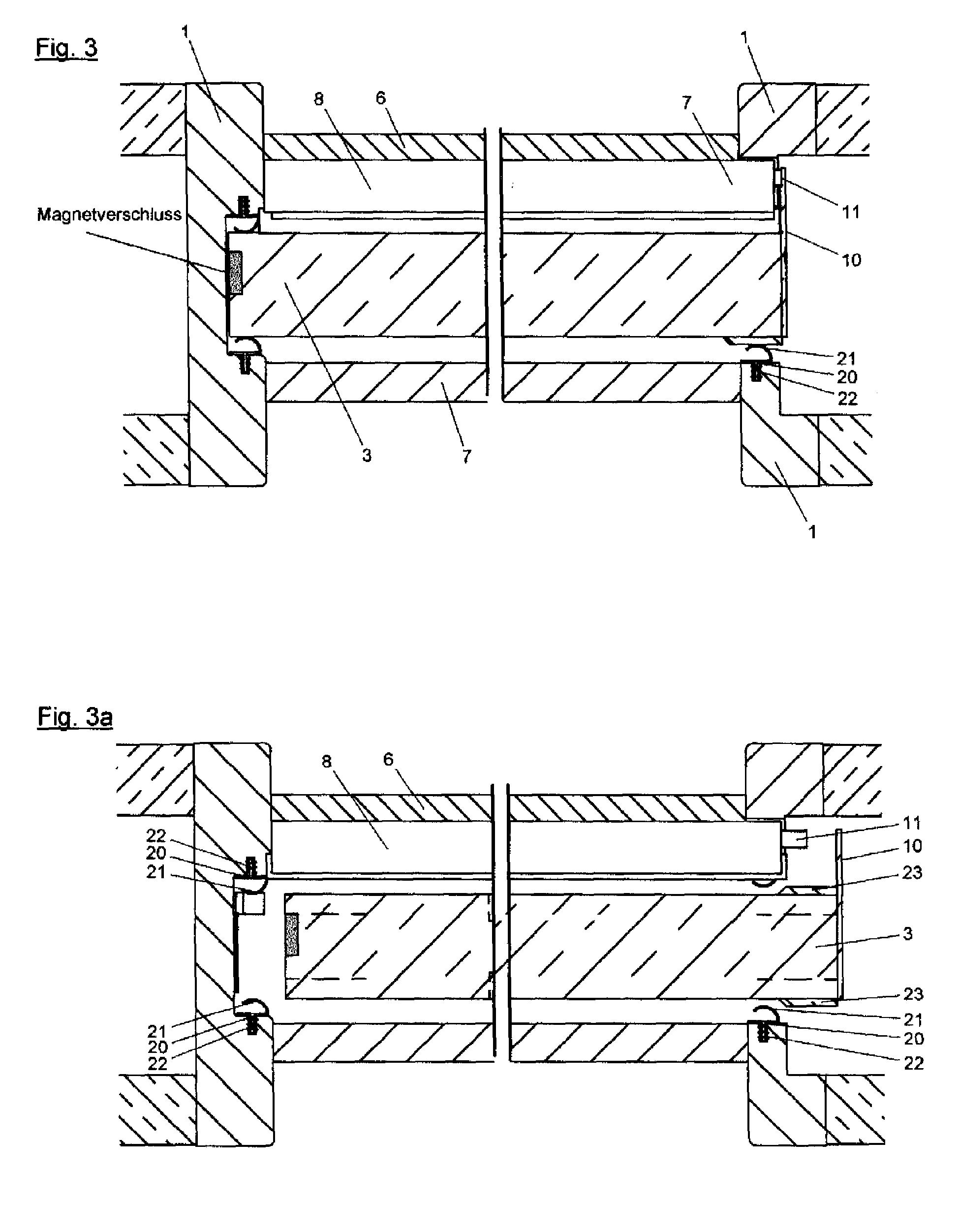 patent ep2077371a2 dichtungen insbesondere f r eine schiebet r und dichtungsanordnung google. Black Bedroom Furniture Sets. Home Design Ideas