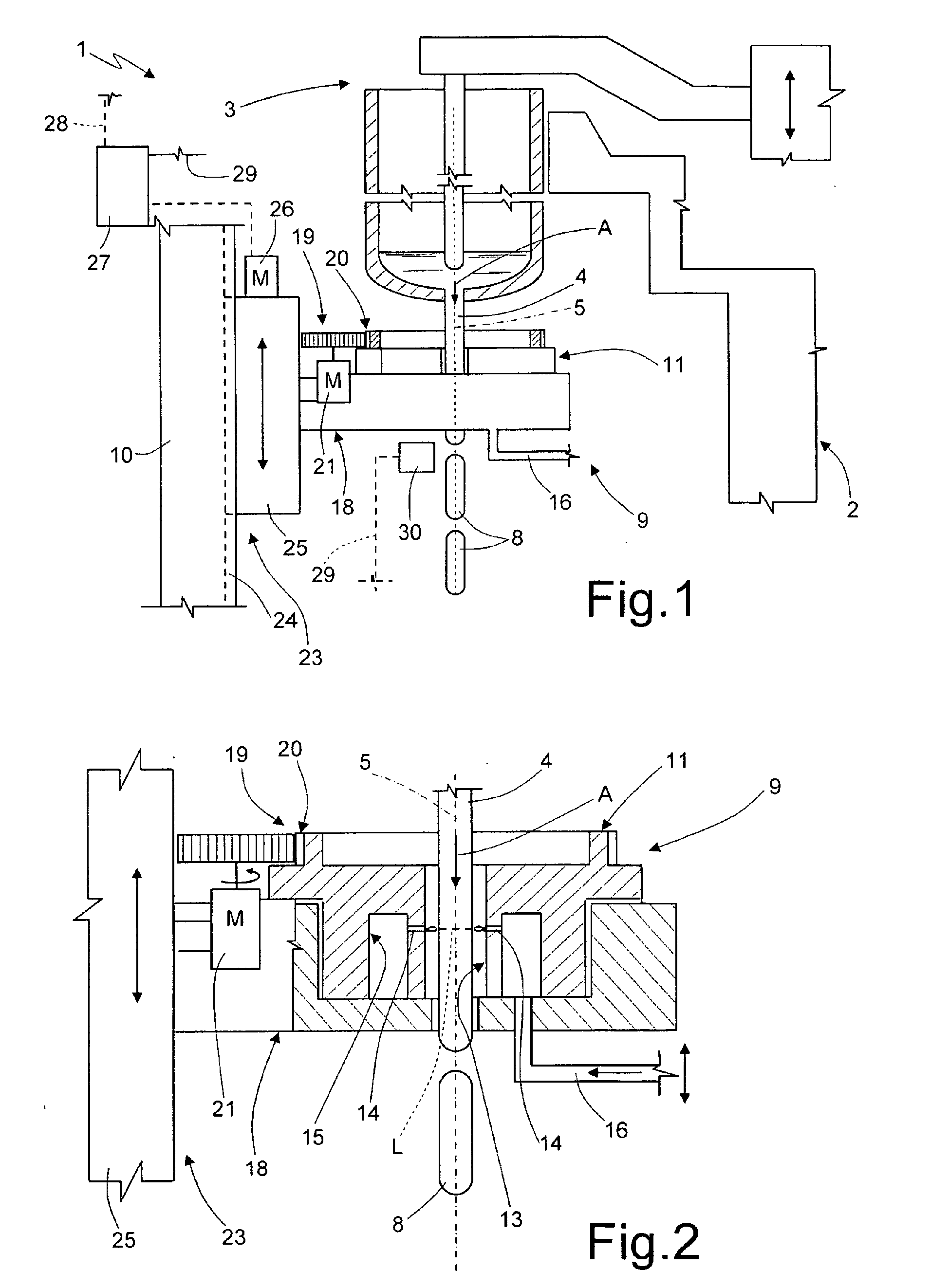 Patent ep2108622b1 method and assembly for cutting a molten glass patent drawing ccuart Image collections