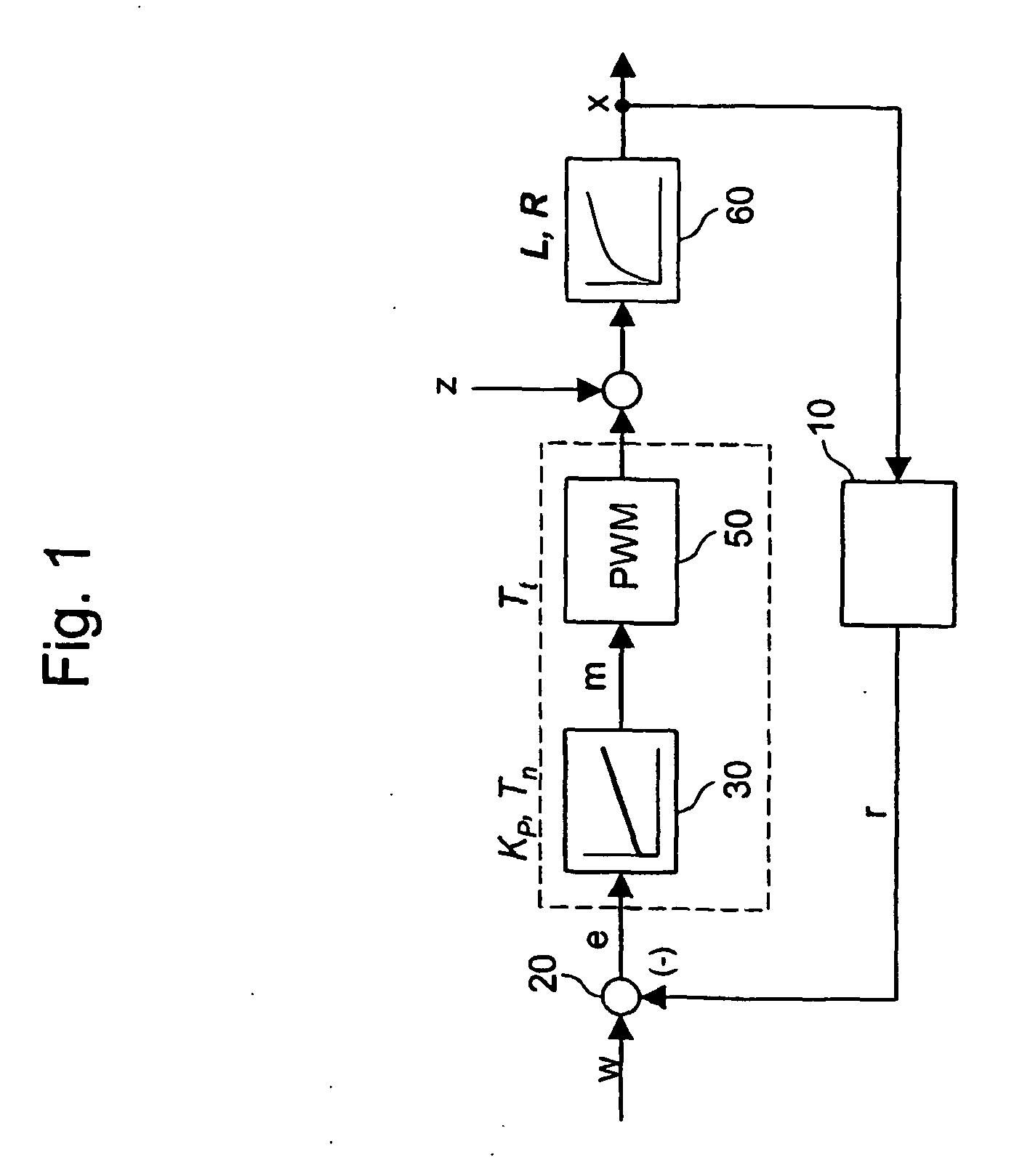Patent EP2111569B1 - Closed-loop control method and closed-loop ...