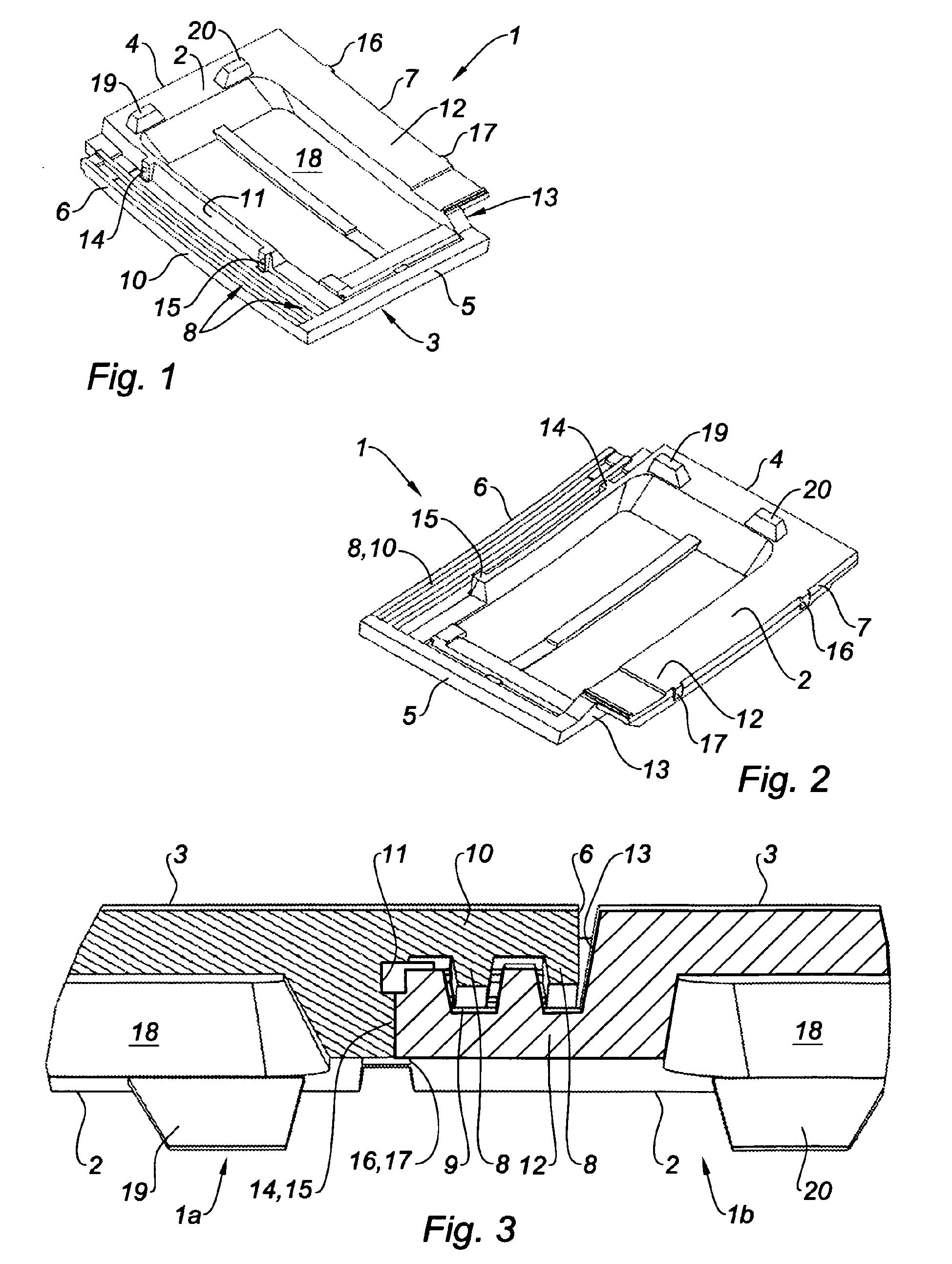 Patent ep2166175b1 tuile embo tement et proc d de for Dimension des tuiles