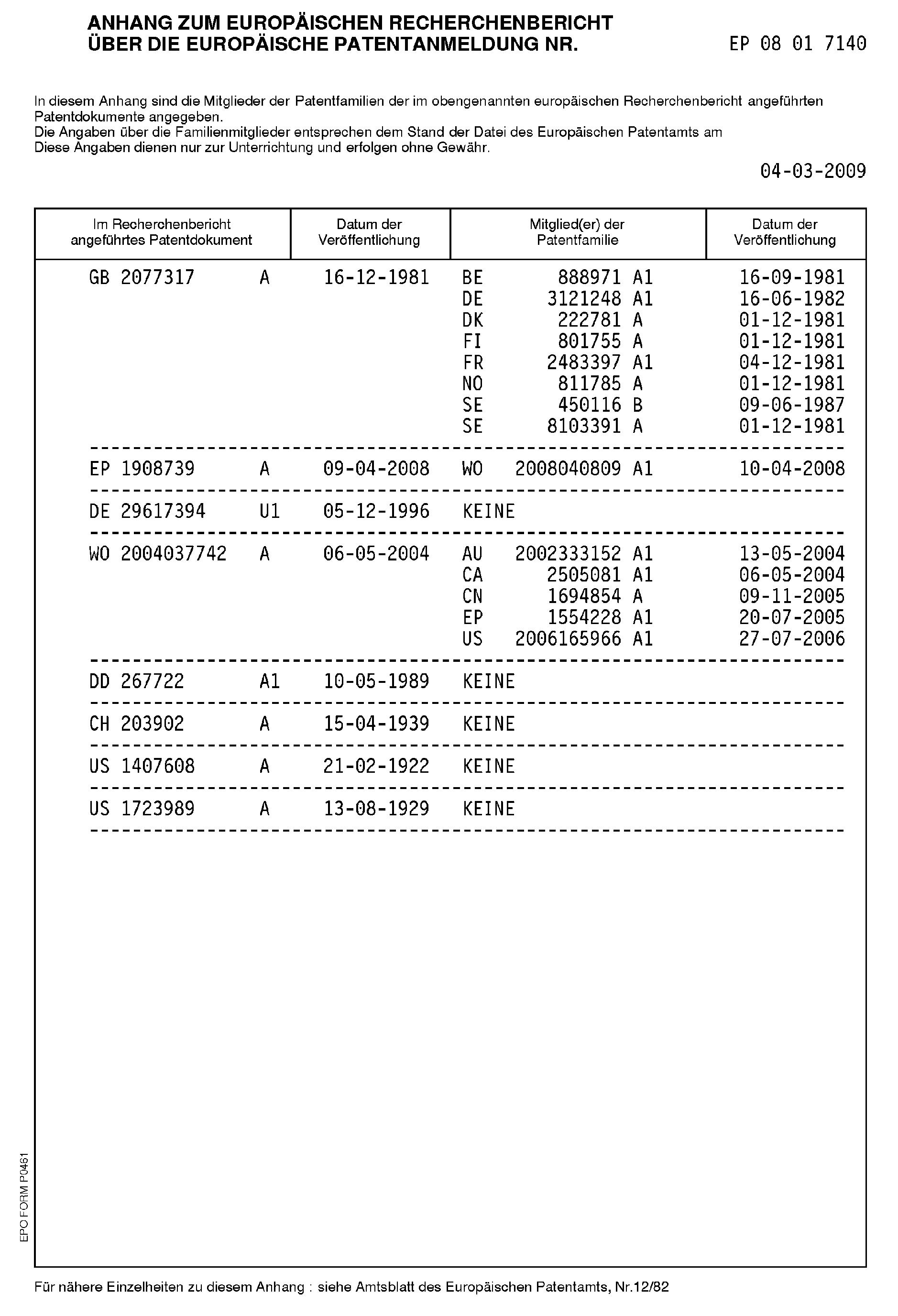 patent ep2177489a1 baustoff mit pflanzlichem zuschlag google patents. Black Bedroom Furniture Sets. Home Design Ideas