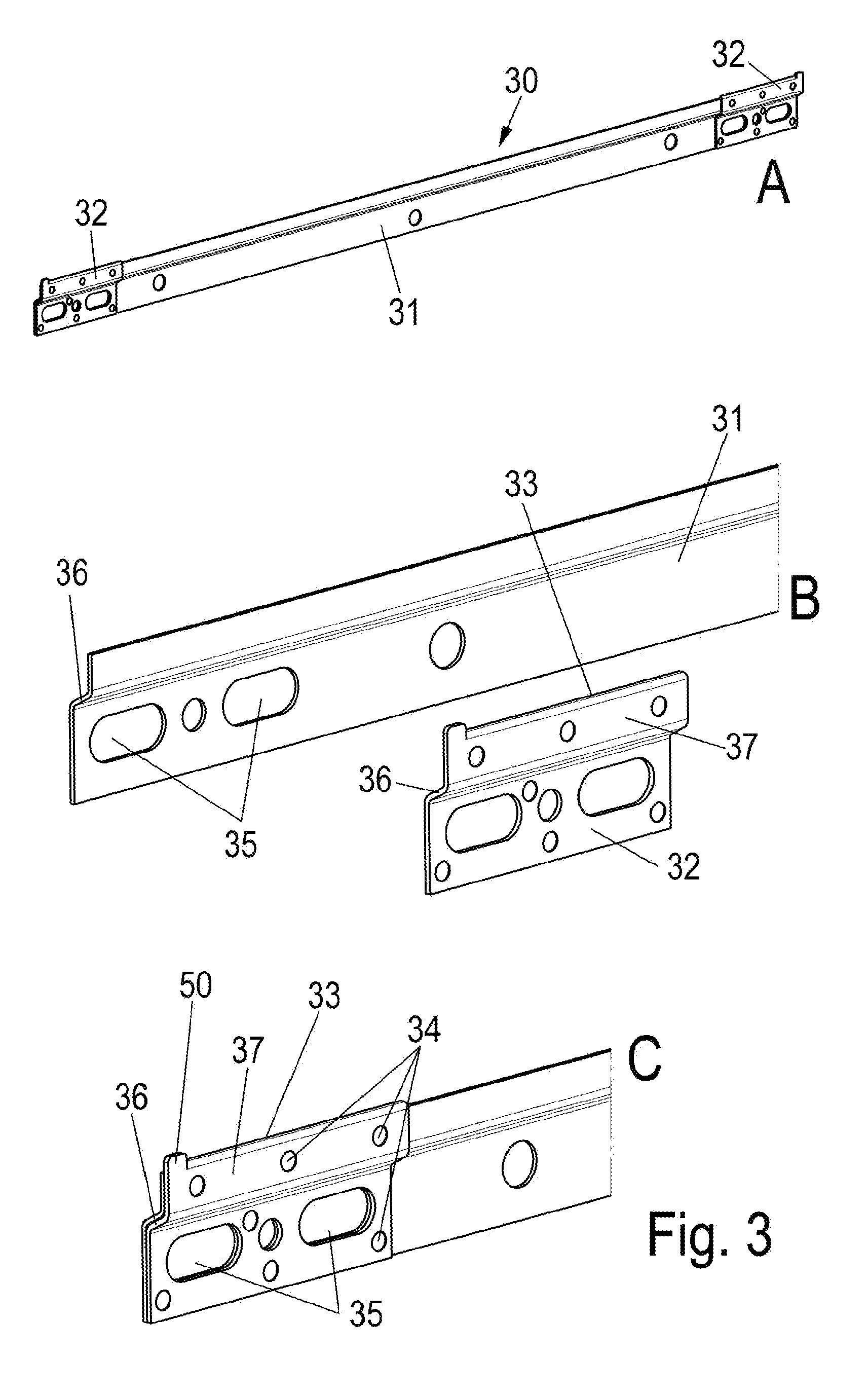 patent ep2206450a1 schiene zum aufh ngen von schr nken google patents. Black Bedroom Furniture Sets. Home Design Ideas