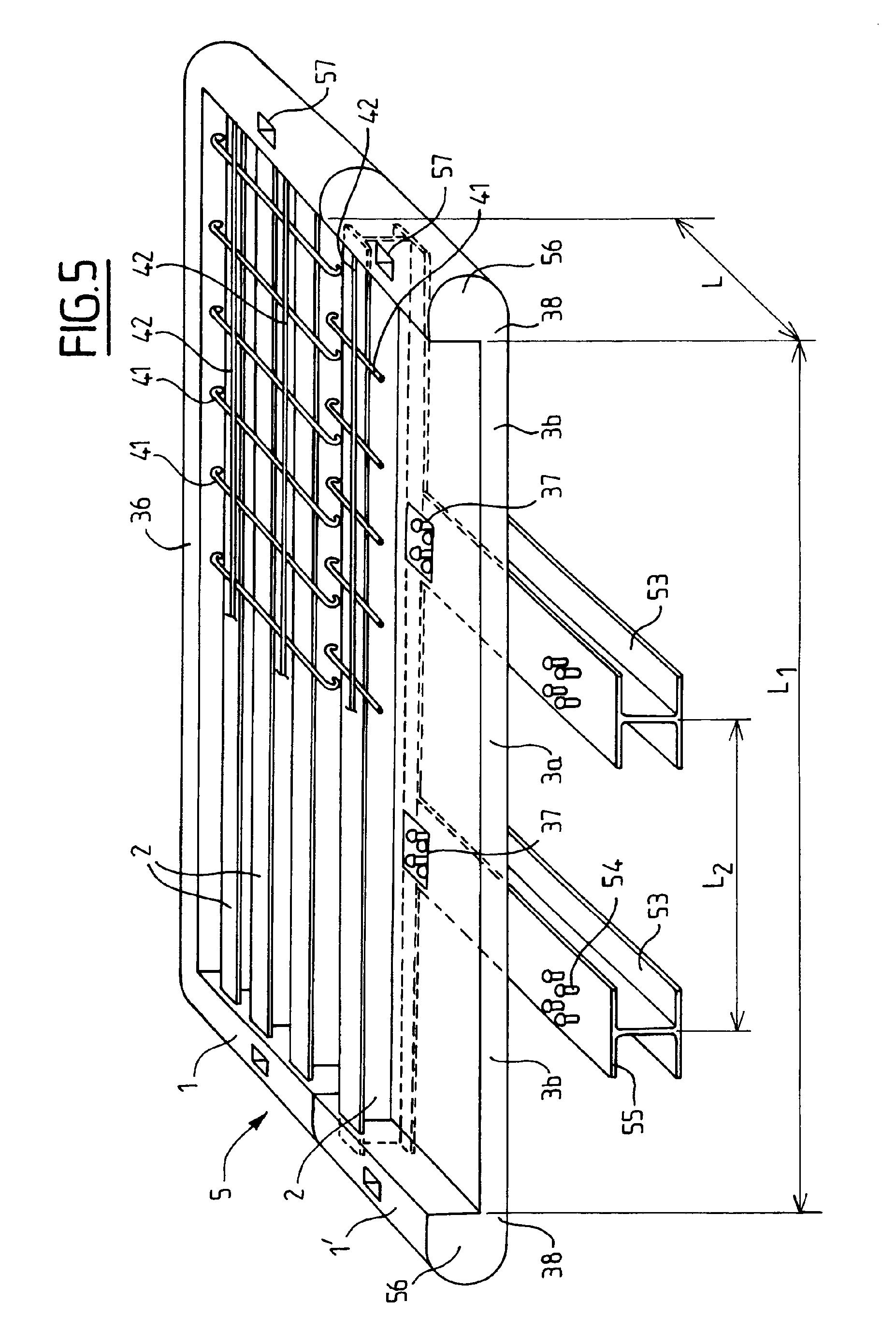 patent ep2231947b1 element prefabrique pour la. Black Bedroom Furniture Sets. Home Design Ideas