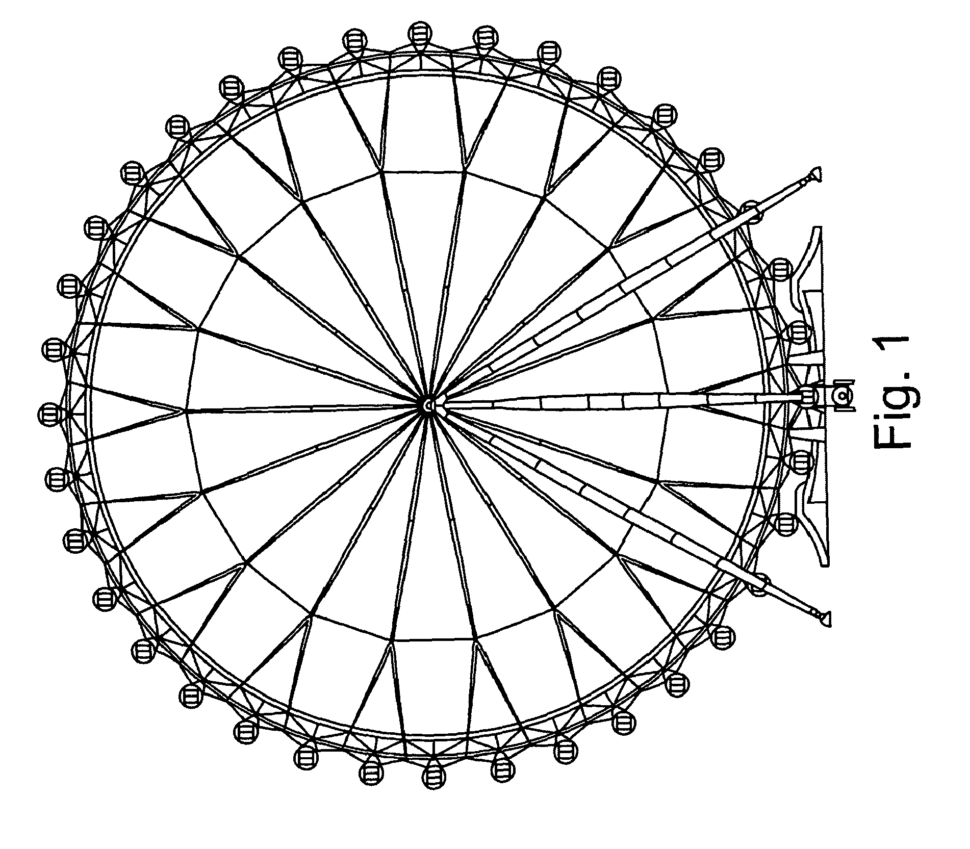Patent EP2248565A1 - Observation wheel type ride - Google ...