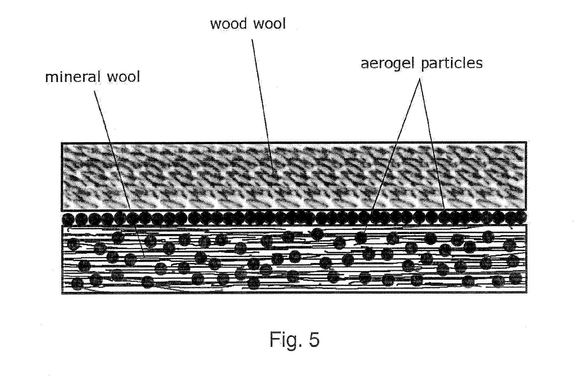 patente ep2281962a2 aerogel containing composite. Black Bedroom Furniture Sets. Home Design Ideas