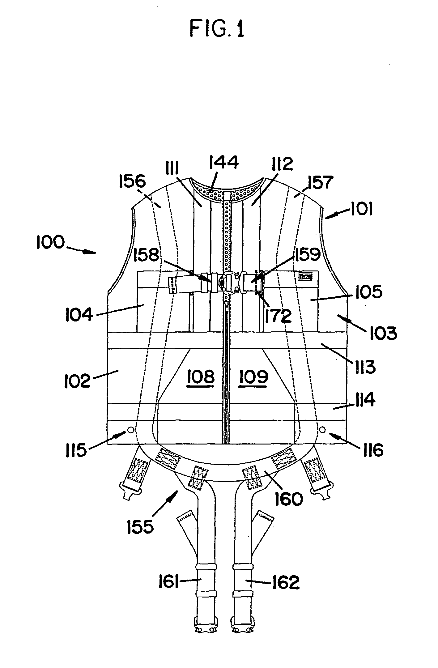 Patent Ep2293694b1 Safety Vest With Integrated Safety