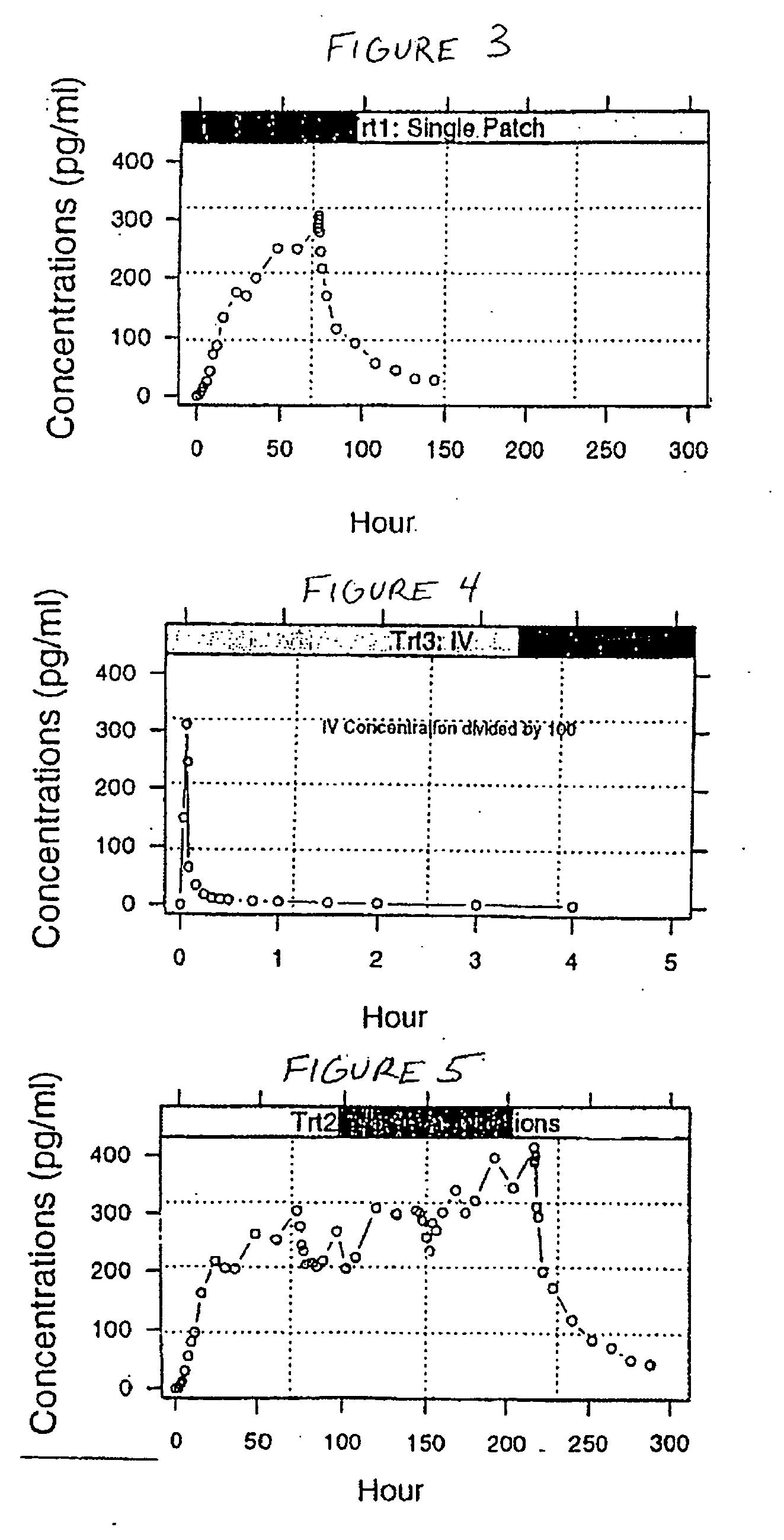 patent ep2305194b1 transdermales pflaster mit buprenorphin zur verwendung in der behandlung. Black Bedroom Furniture Sets. Home Design Ideas