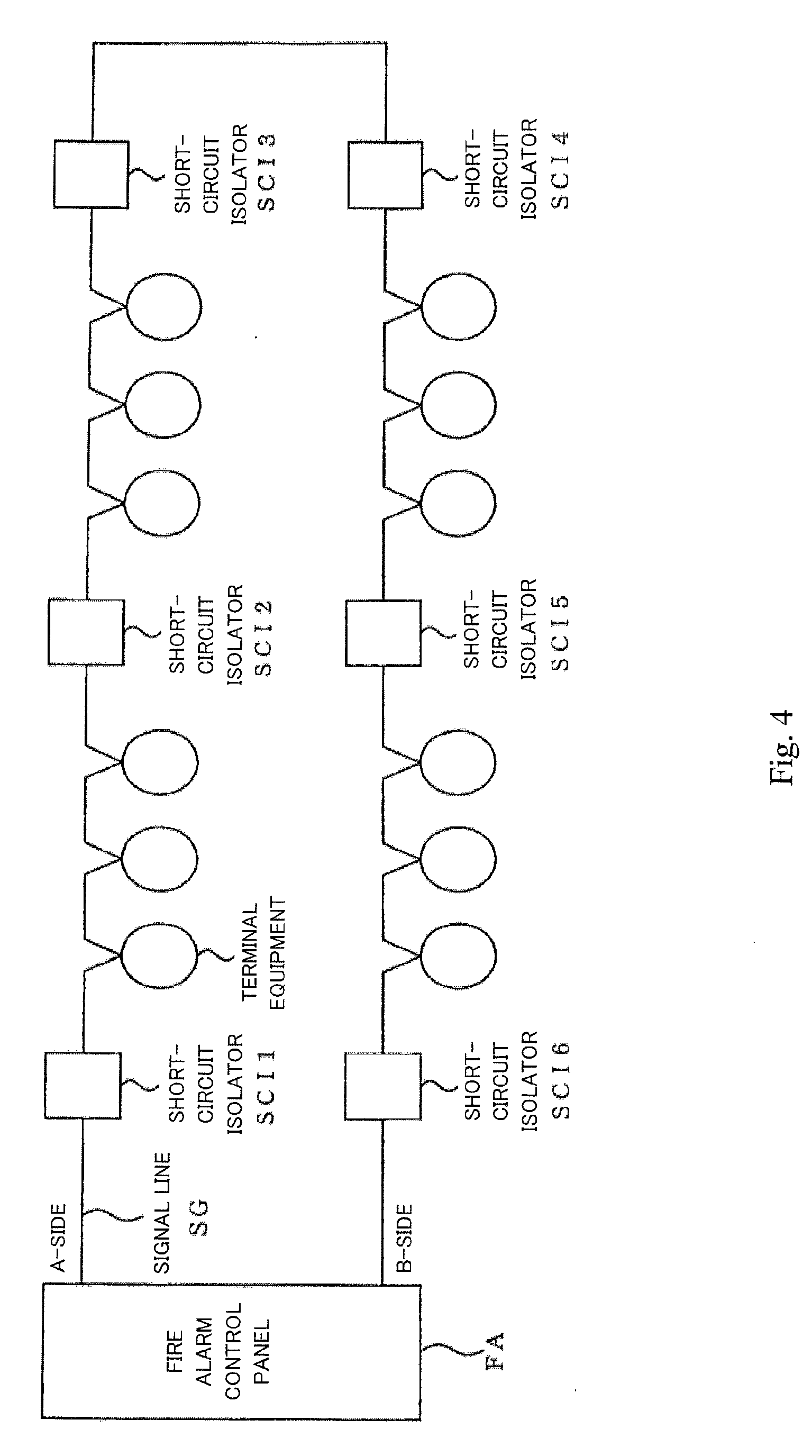 patent ep2348497a2 - short-circuit isolator