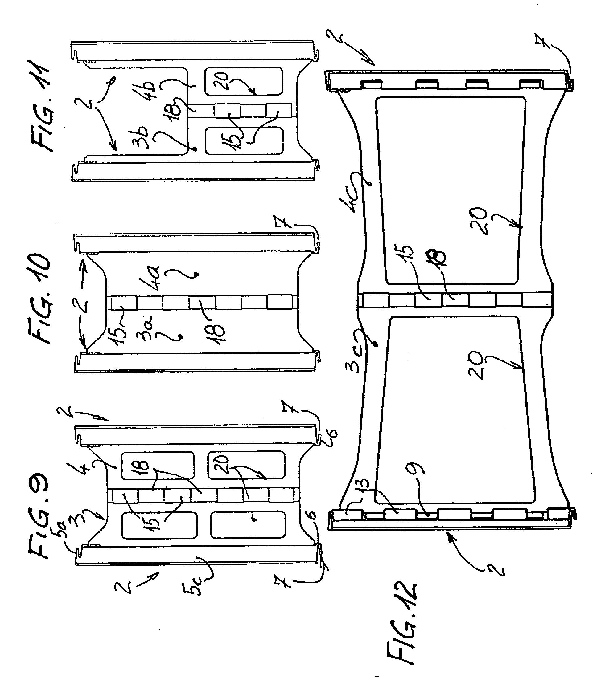 patent ep2373852b1 bloc a bancher pliable pour la. Black Bedroom Furniture Sets. Home Design Ideas
