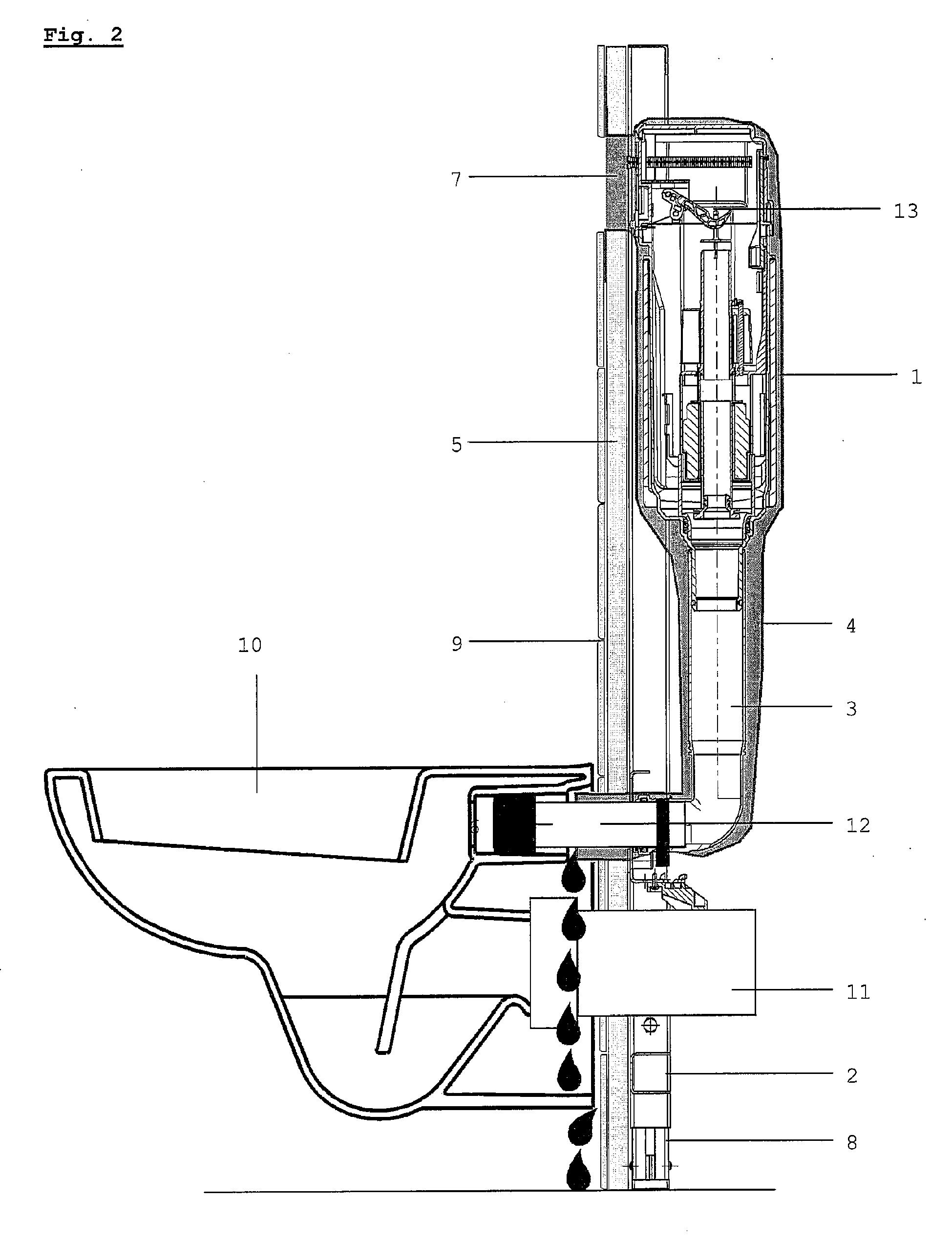 patent ep2397613a1 einbausp lkasten mit feuchte und. Black Bedroom Furniture Sets. Home Design Ideas