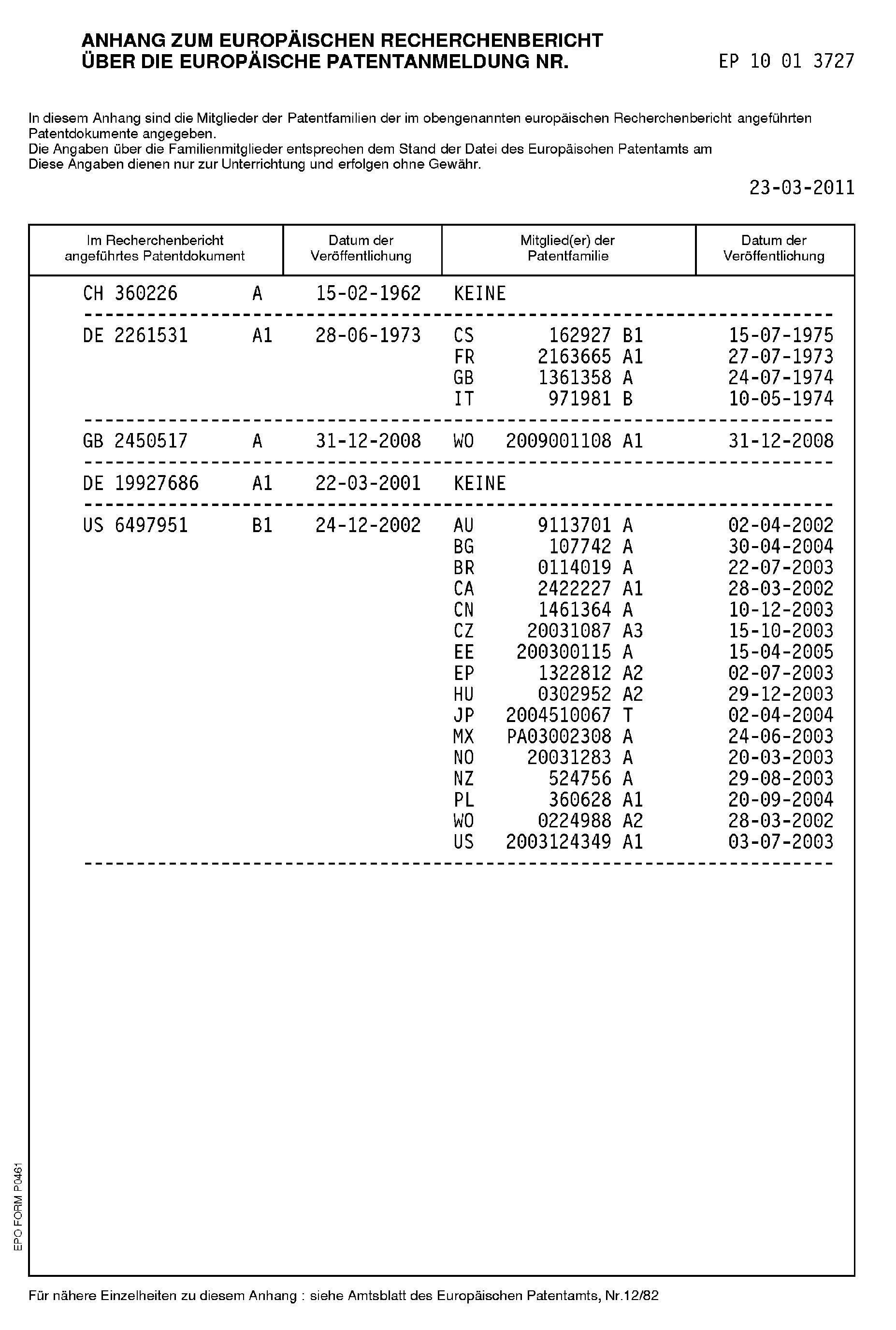 Patent EP2442081A1 - Temperature sensor - Google Patents