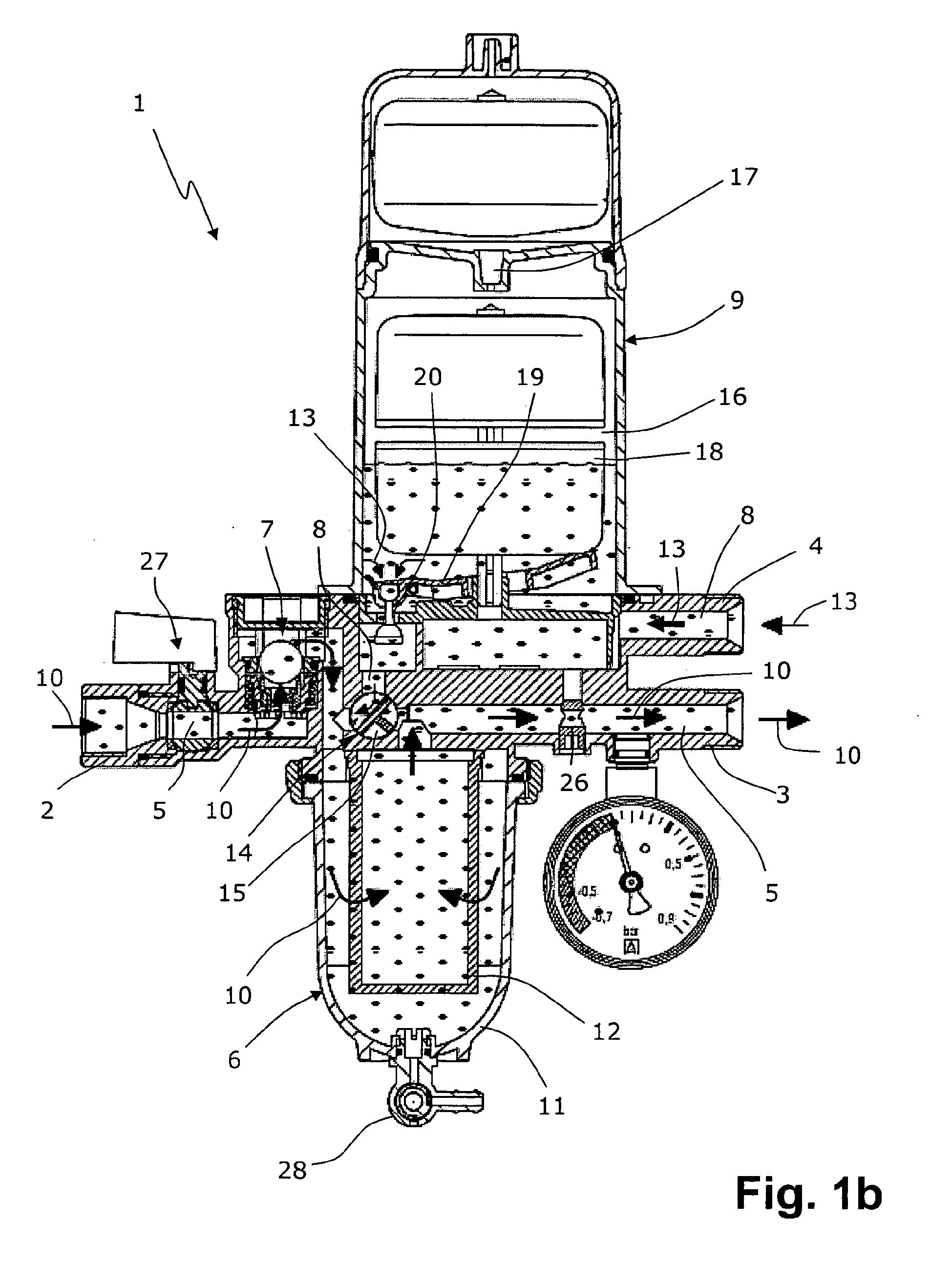 patent ep2446951a1 vorrichtung zum filtern und entl ften von heiz l mit r cklaufumschaltventil. Black Bedroom Furniture Sets. Home Design Ideas