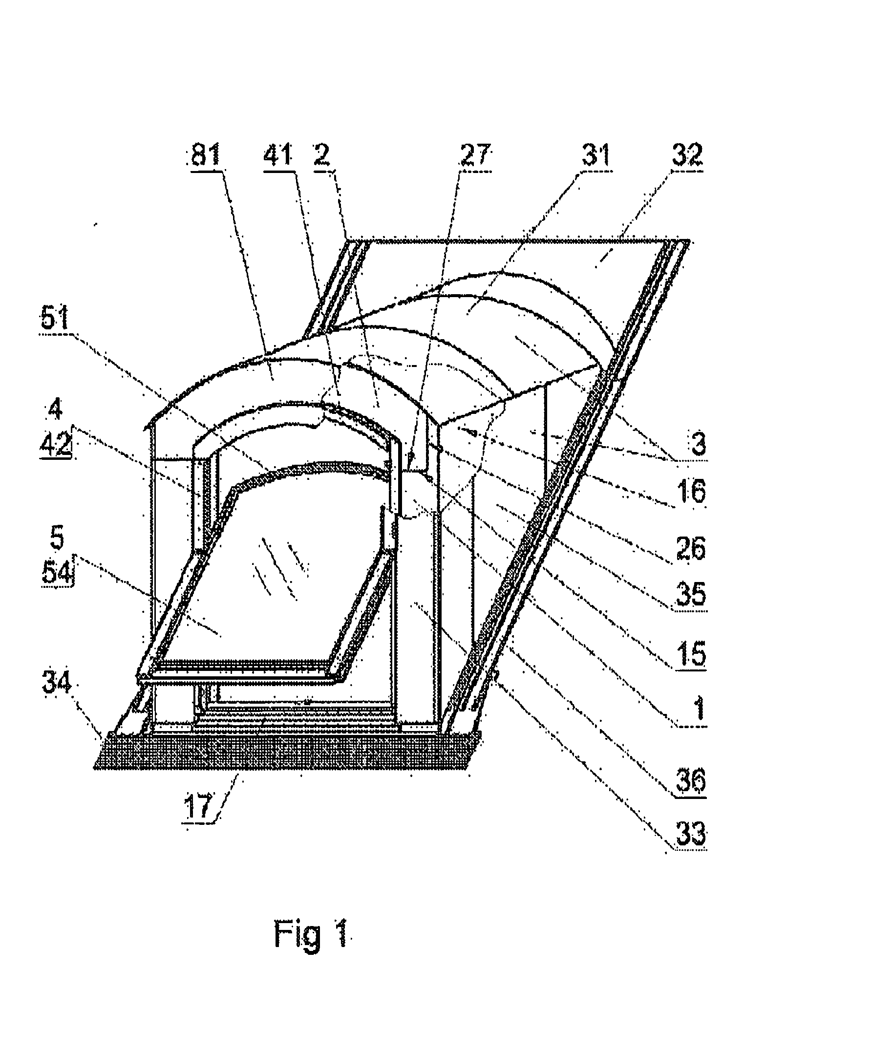 Patent Ep2484842a2 Dormer Roof Window Google Patents