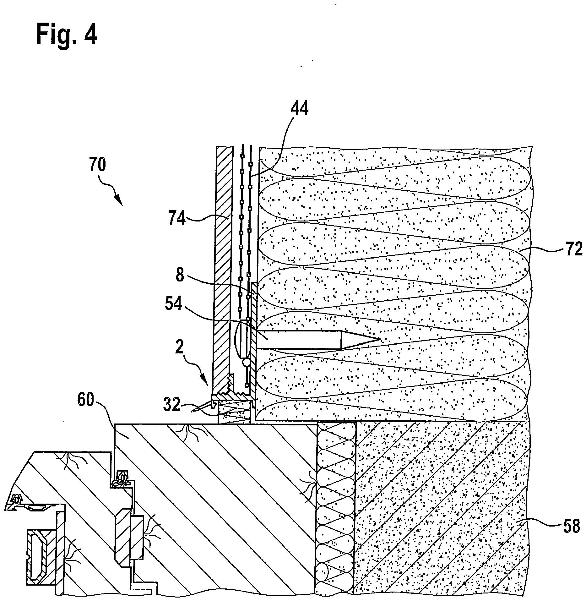 patent ep2505737a2 anputzleiste sowie bauwerksecke mit anputzleiste google patents. Black Bedroom Furniture Sets. Home Design Ideas